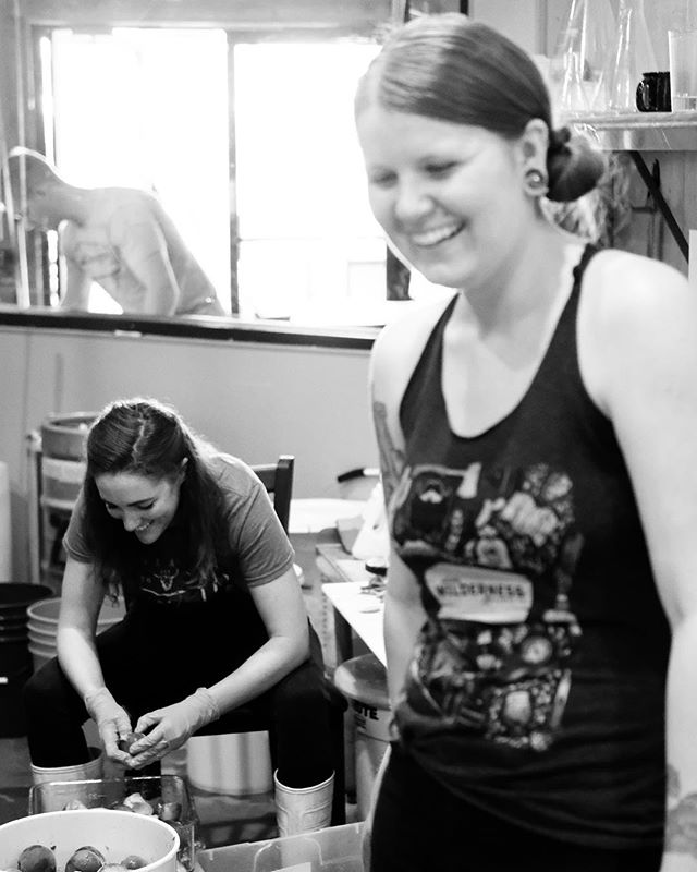 Let's talk about the other Arizona Wilderness Humans.  We had the incredible opportunity to work with and live some life alongside these people last week and we gotta tell you... They are some of the most passionate, hard working, peach processing, creative individuals we've met - all of them lending their talent to a team that is uniquely Arizona and fierce as hell.  If you ever get a chance to meet them, count yourself lucky.