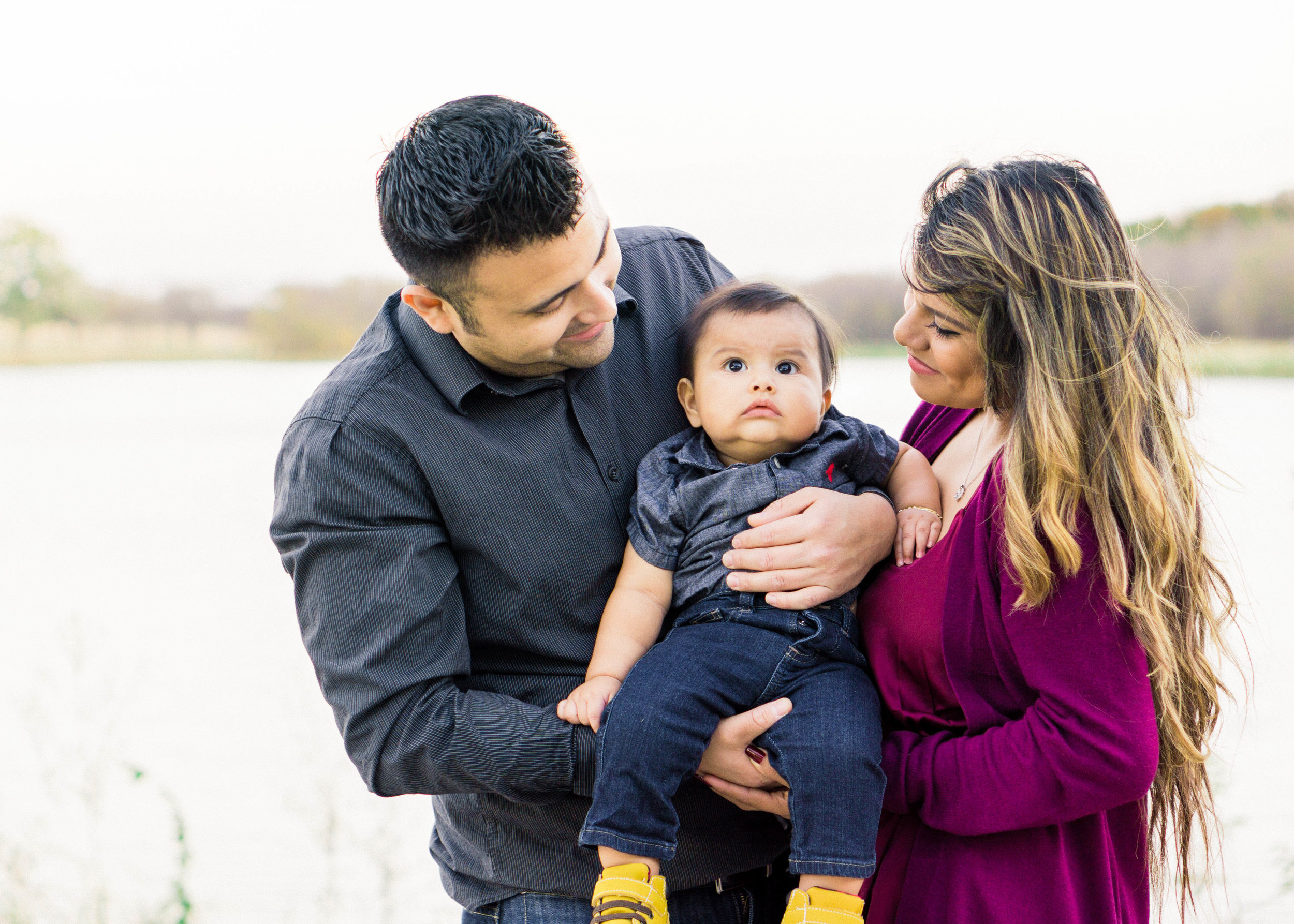 Oak Point Park & Nature Preserve Plano, Texas Family Session