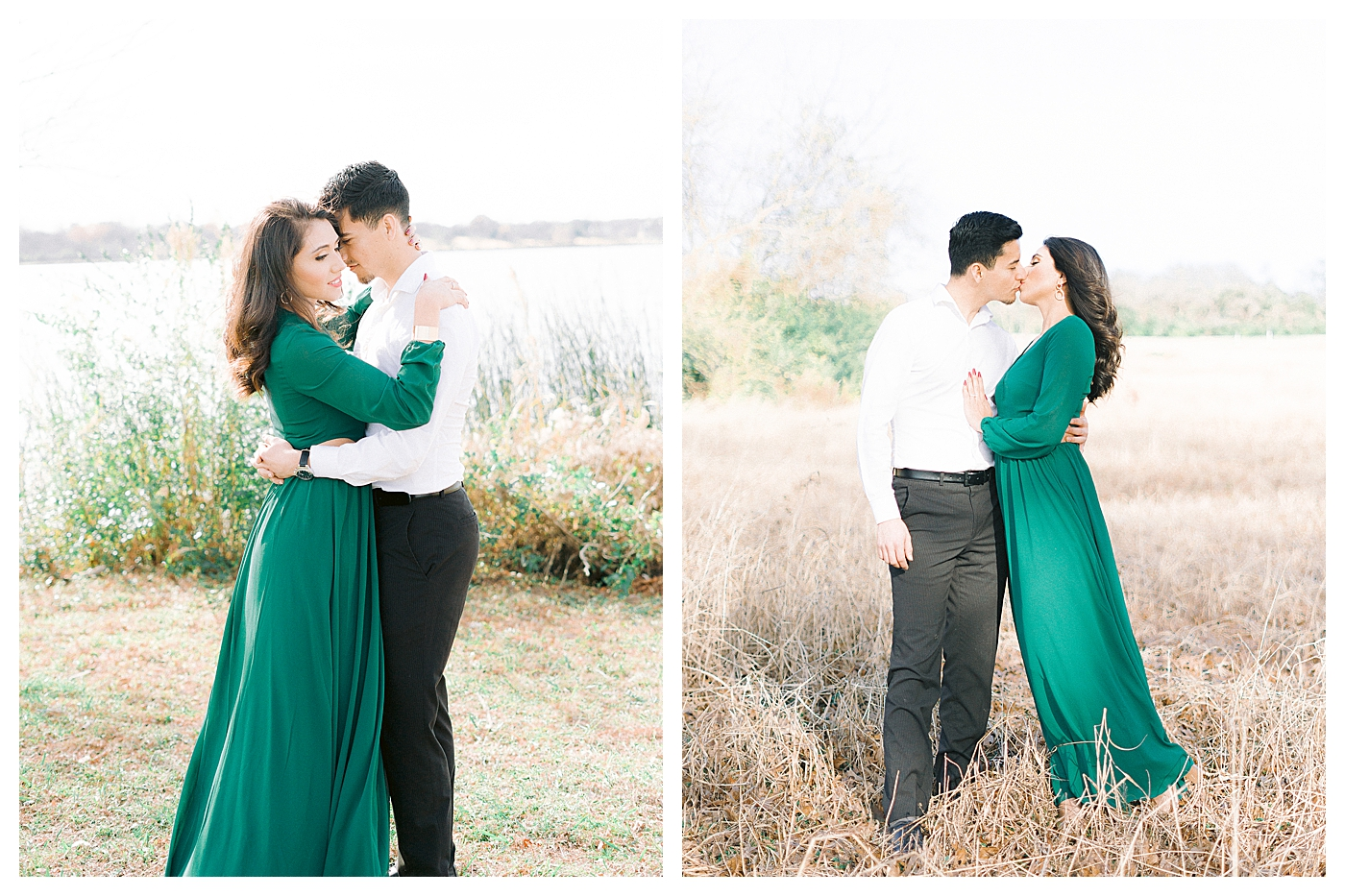 Rossalya & Carlos's Engagement Session |  White Rock Lake Dallas, Texas Wedding Photographer Dallas-Fort Worth Heirloom Rose Photography Image Copyright Heirloom Rose Photography