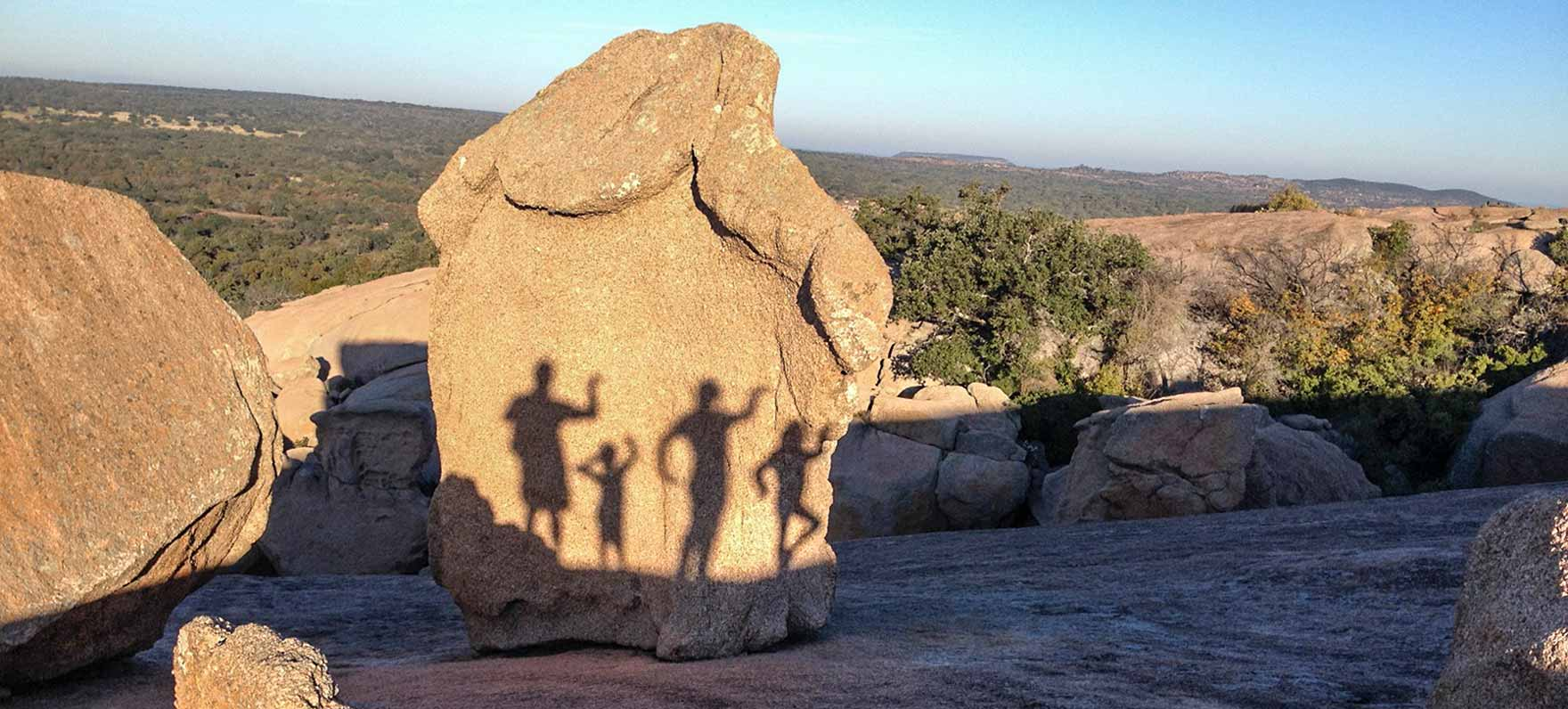 Take a hike - Enchanted Rock in Fredericksburg offers amazing scenery and over 11 miles hiking trails for a range of abilities.