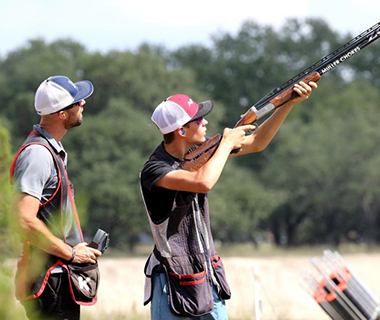 Book a private shooting lesson - Hog Heaven in Dripping Springs is home to a personal shooting academy and range developed by Gebben Miles, a multi time Professional Tour Champion, World and National Champion, Pro Shooter.  Gebben, along with his team of coaches, are available for private and small group lessons.