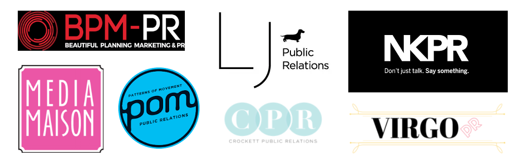 I have worked with other PR firms on amazing projects...