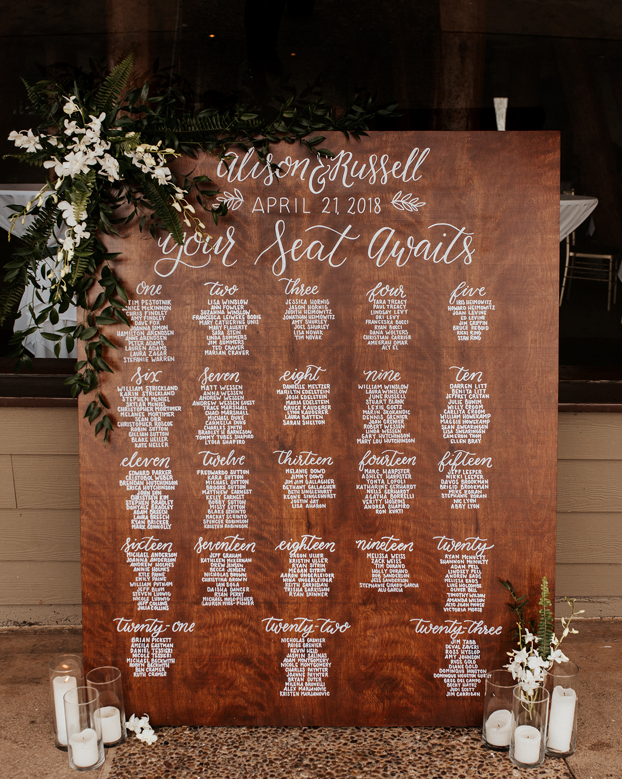 custom calligraphy wood signage