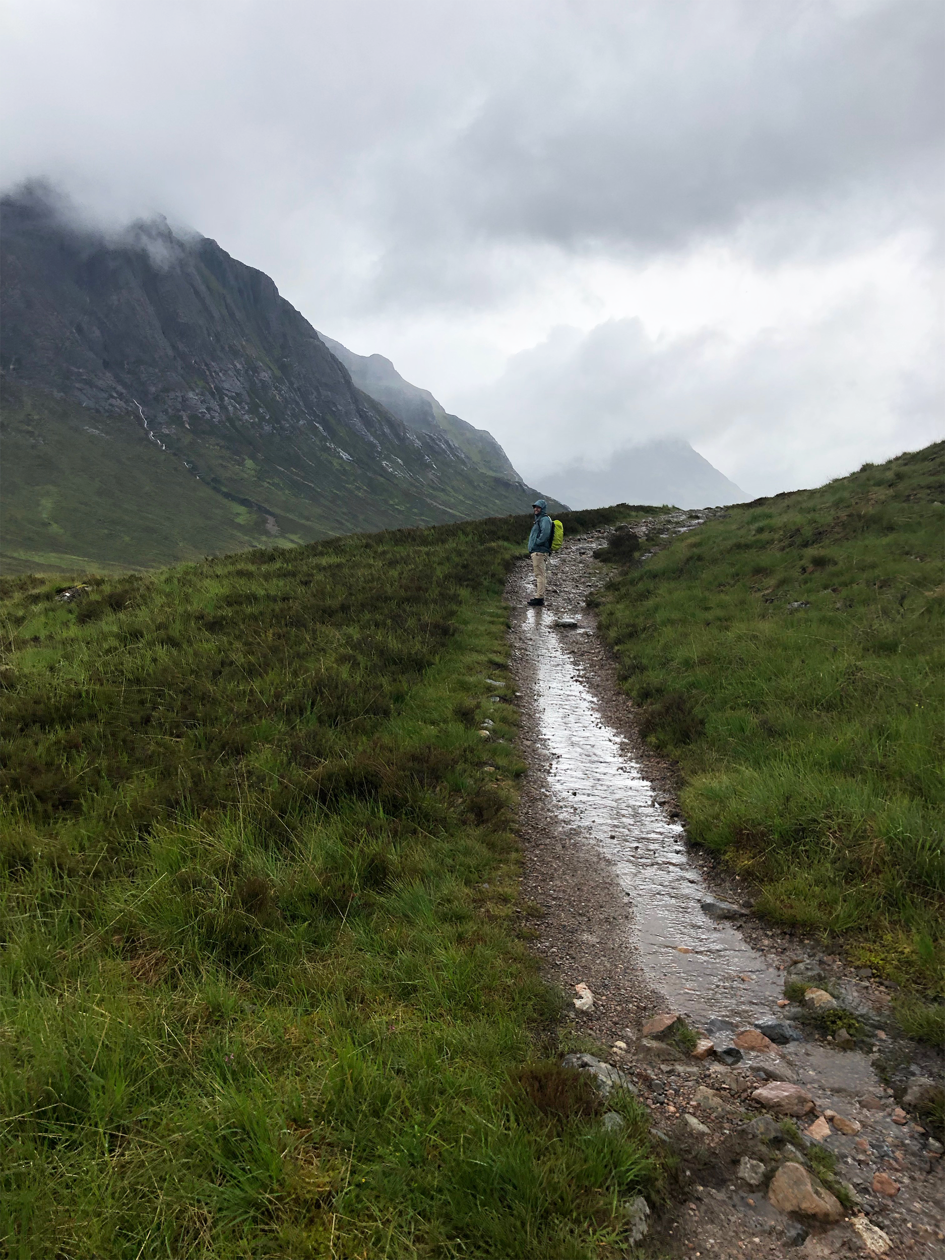 Cold, wet and rainy… the perfect picture of the highlands