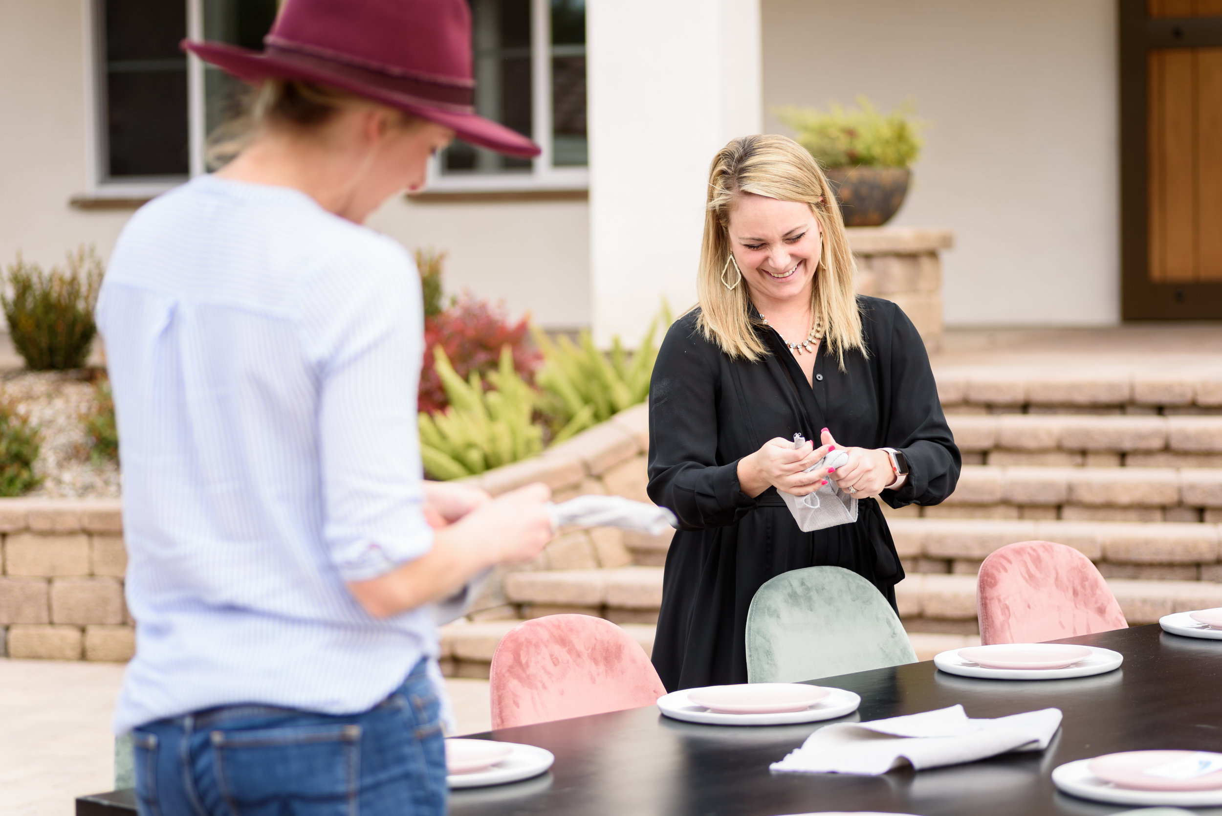 Sarah from  Grace and Gold Events  in action!
