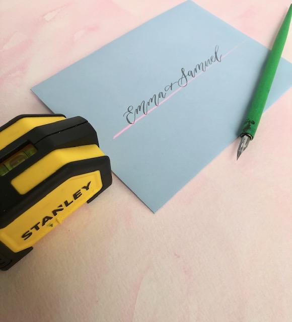 Envelope_addressing_Calligraphy_Tips
