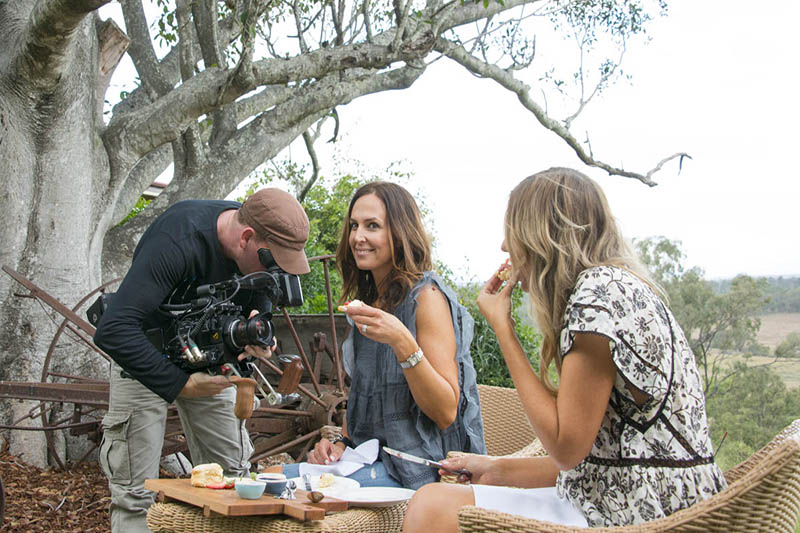Queensland Tourism campaign on the Sony F5, Brisbane.