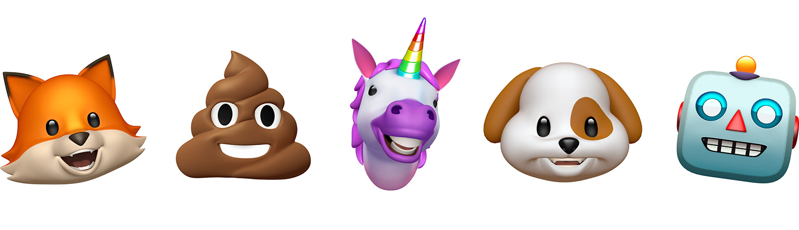 These little dudes perfectly mirror your mouth movements and it is SO creepy and SO cool. The only bummer about them is that you can only send and receive them from other iPhone X users, so I need more people in the club