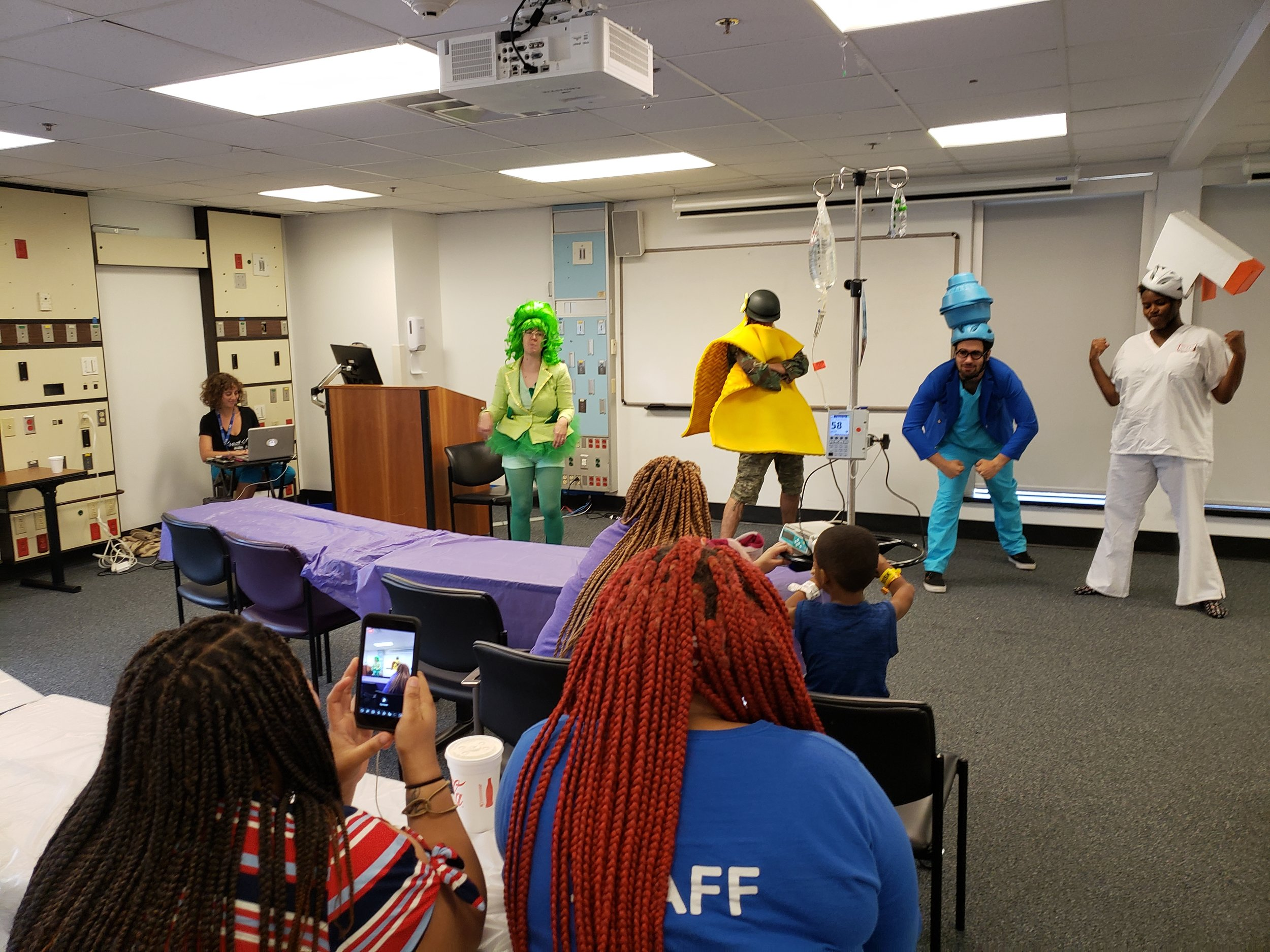 Clean Squad performance at New Orleans Children's Hospital July 24, 2019
