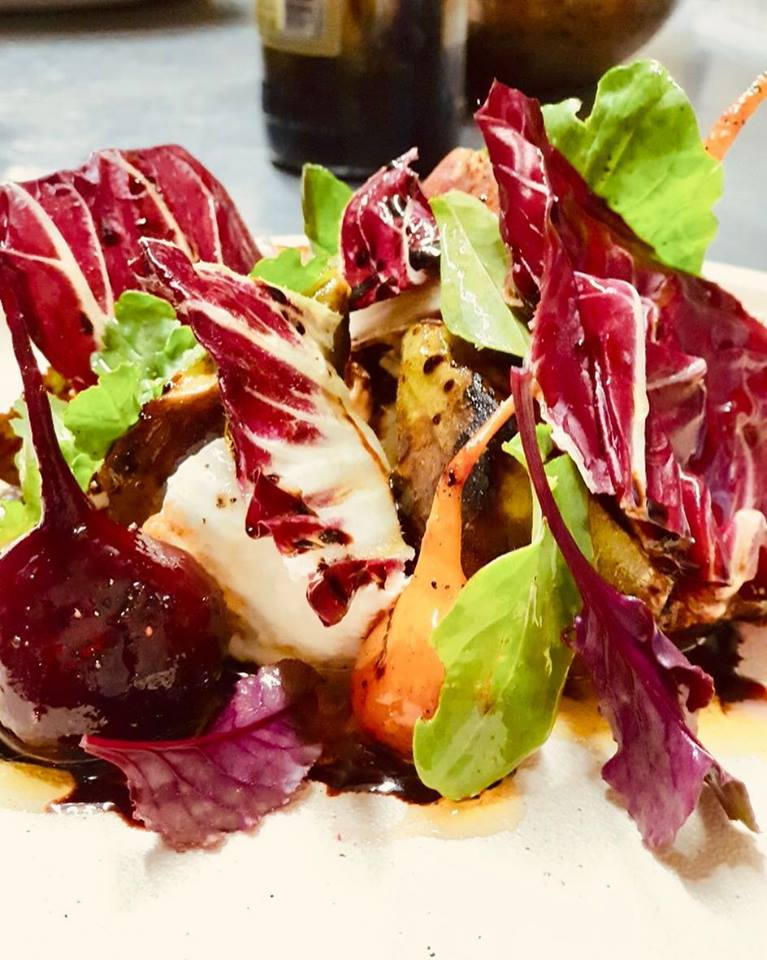Heathcote figs and beetroot