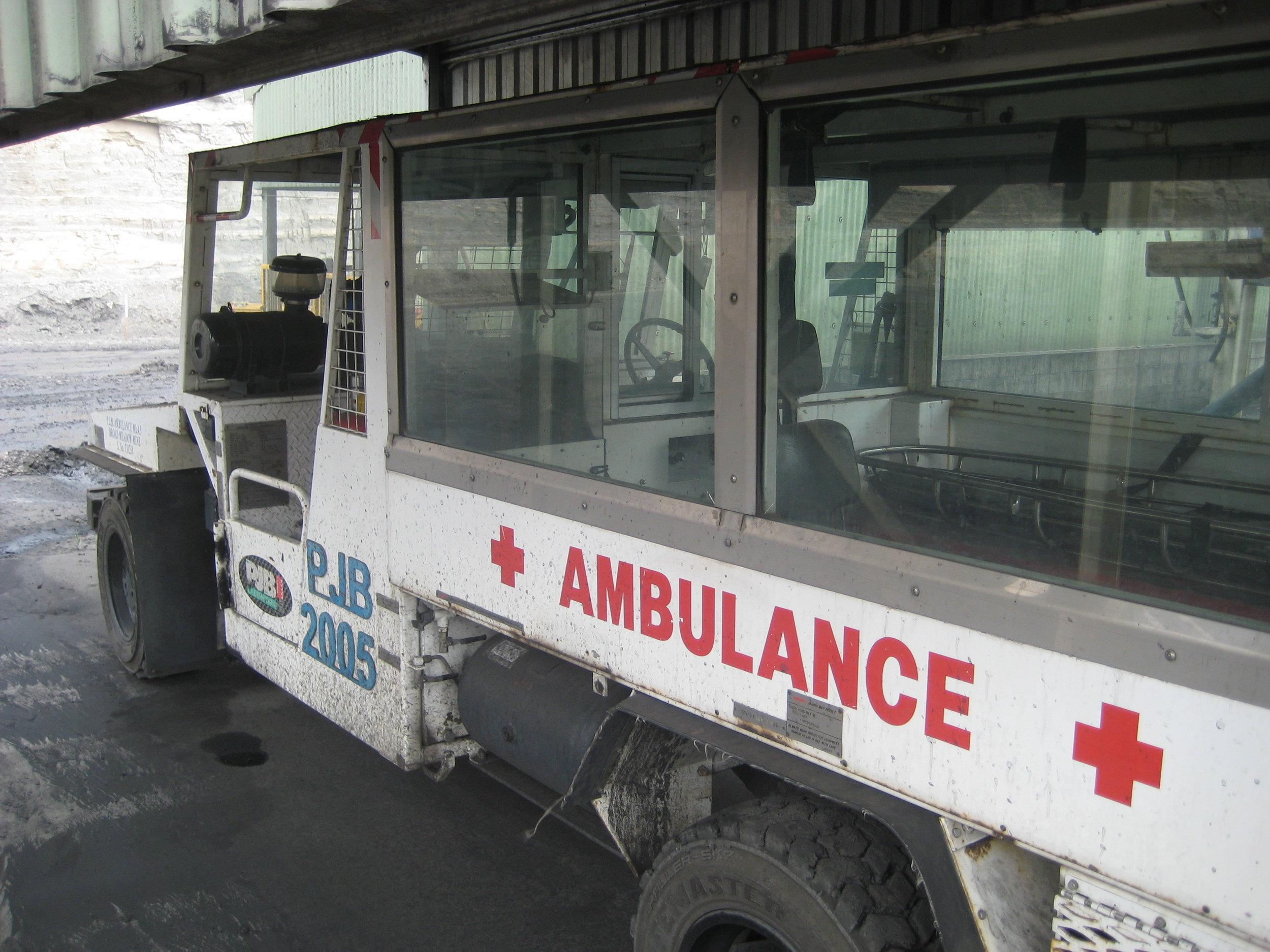 Emergency response vehicle