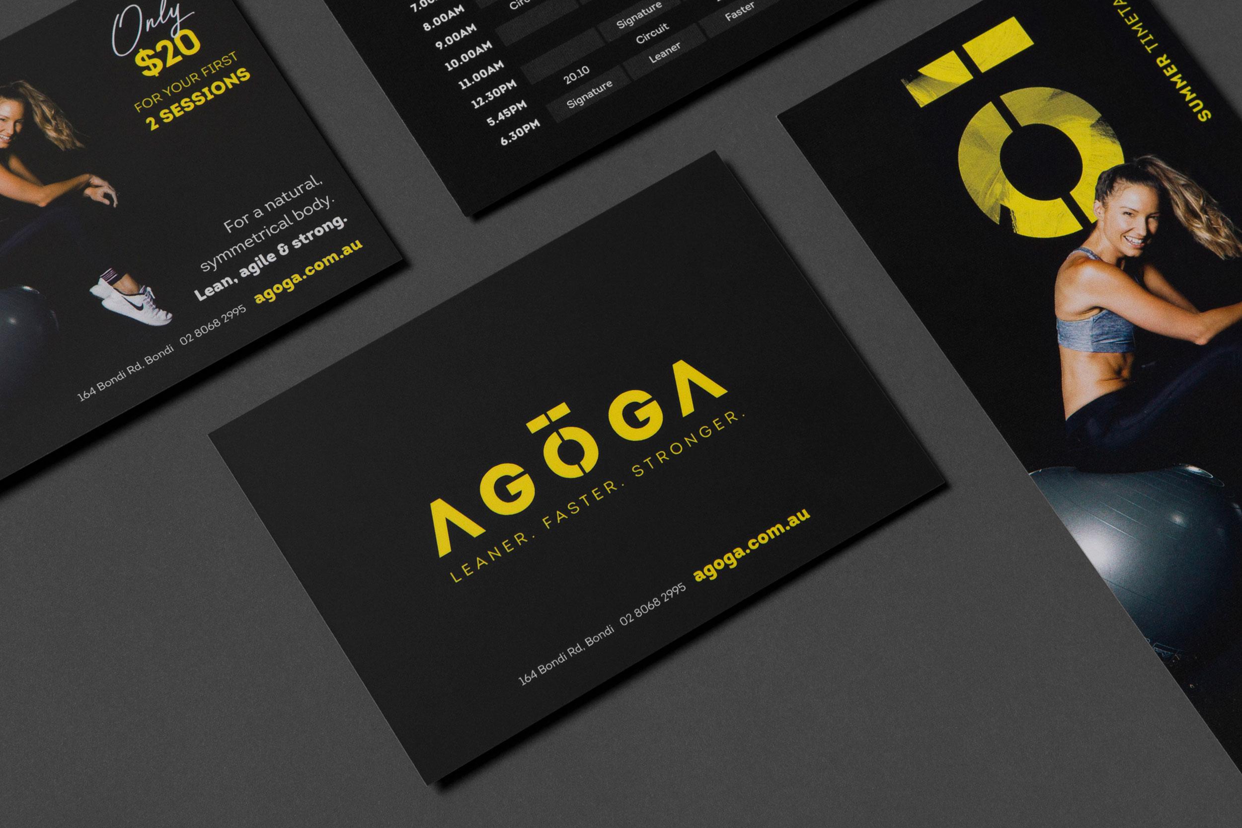Agoga - Graphic Design by Neverland Studio