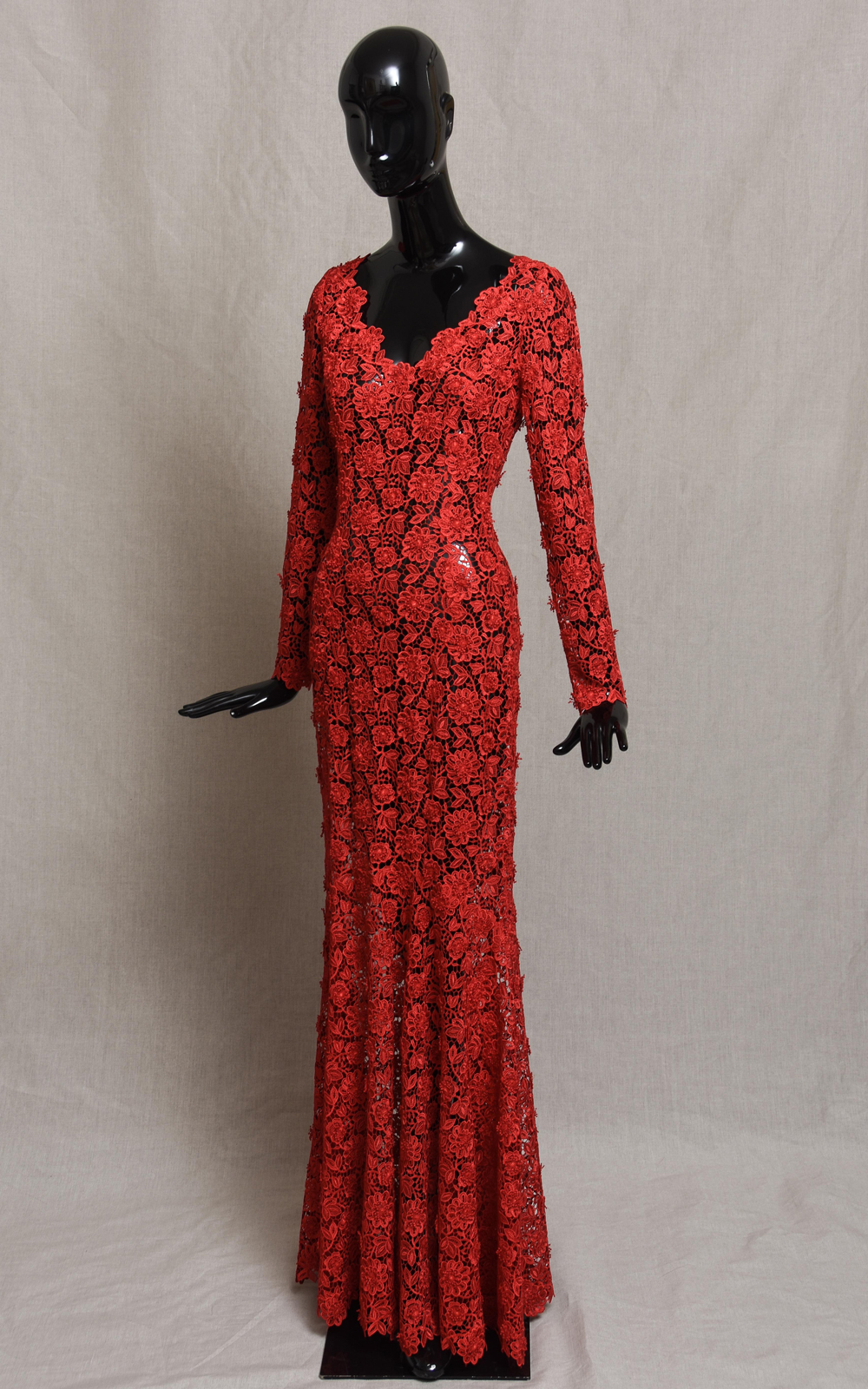 ZARA Guipure lace dress