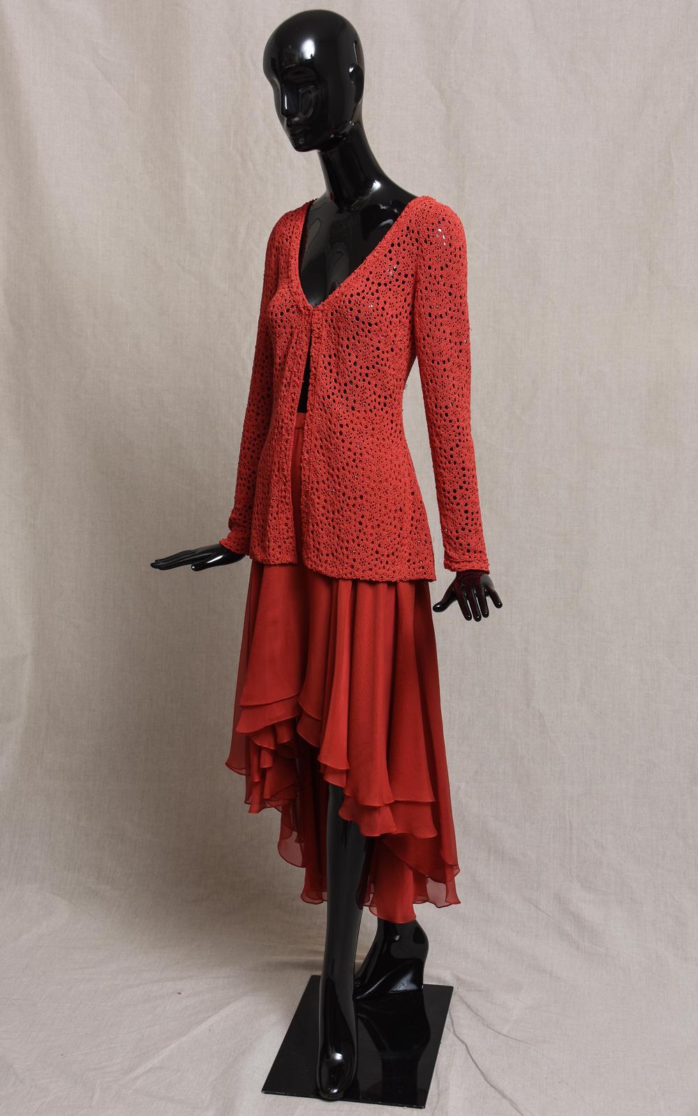 CARLA cardigan & HAMPTON skirt