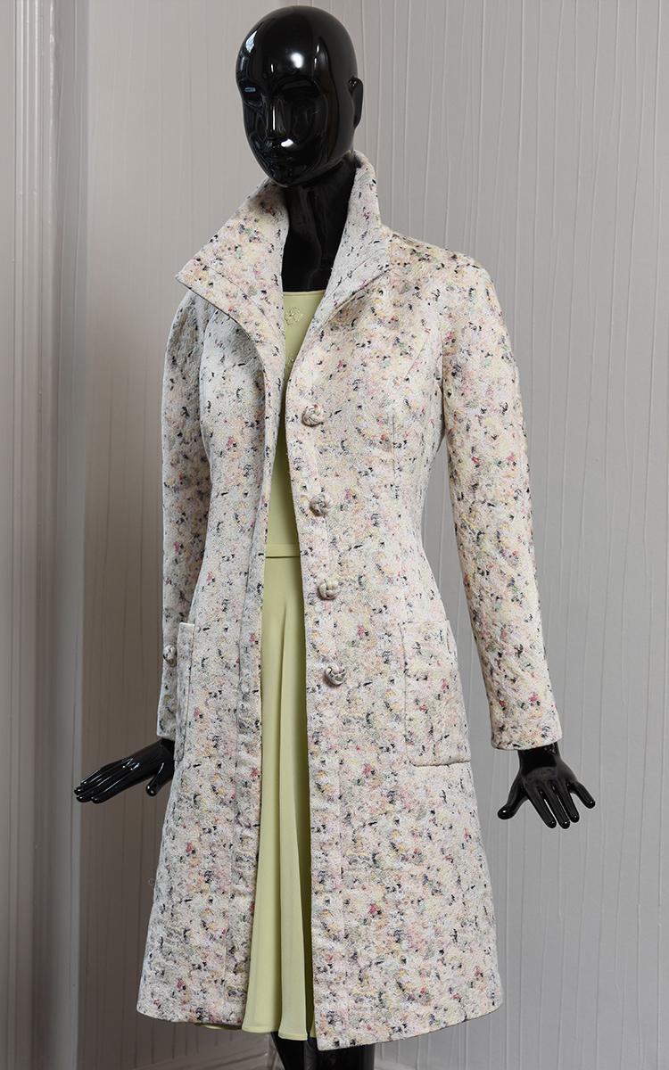 STEPH coat & SHADOW dress