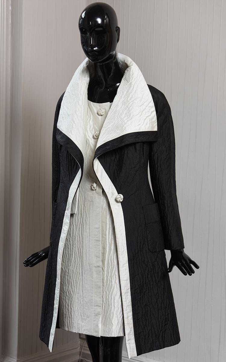 BRYONY coat & KEANE dress
