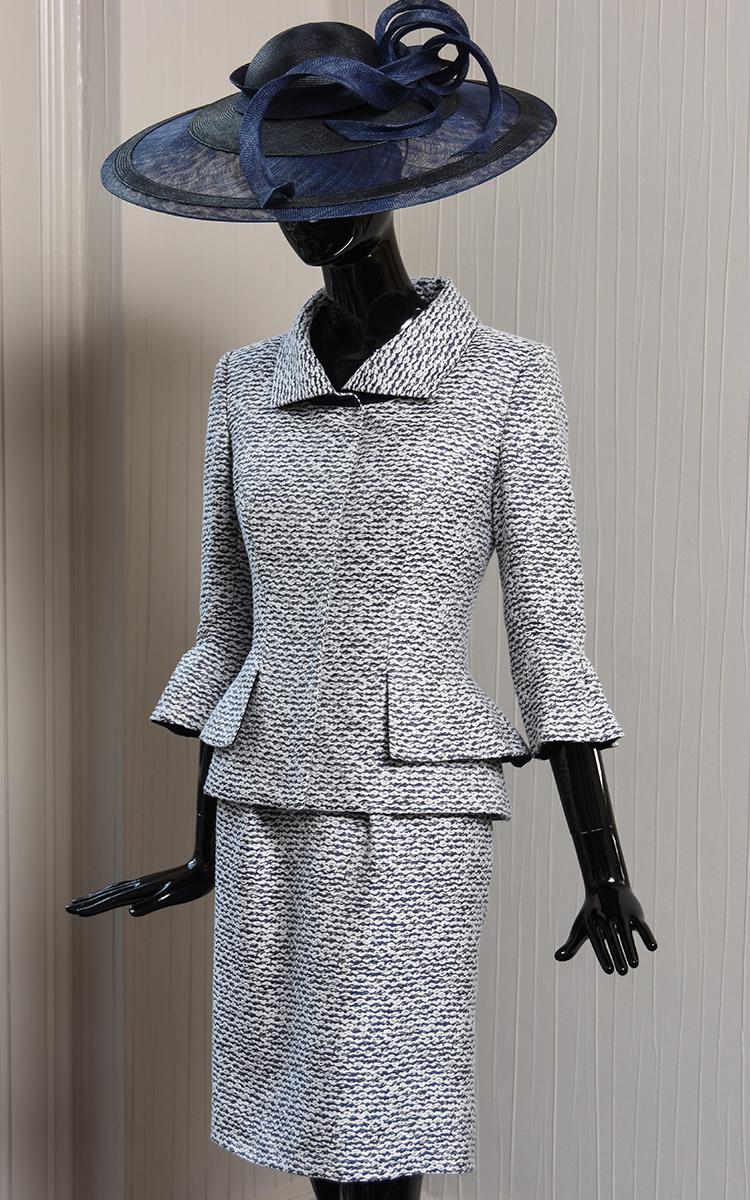 ELIZE jacket & SLIP dress