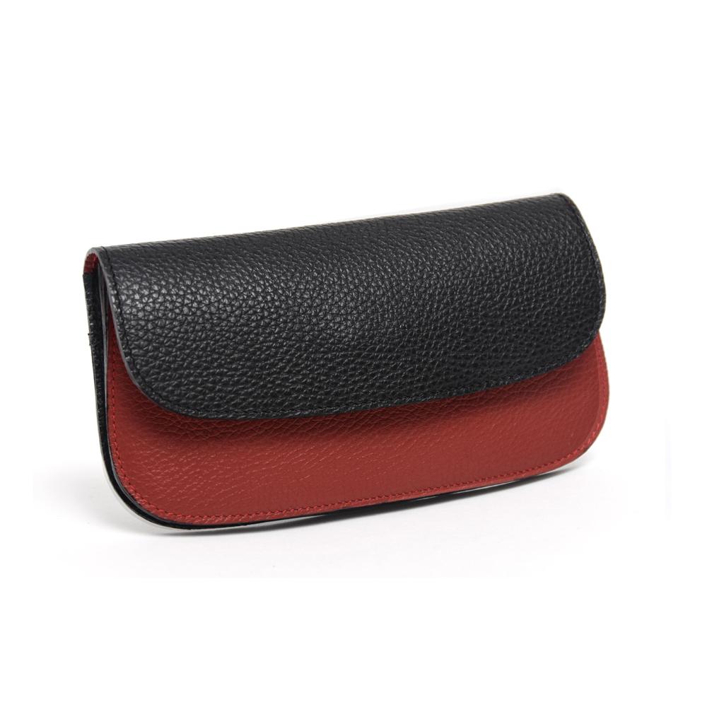 Purse in Red & Black