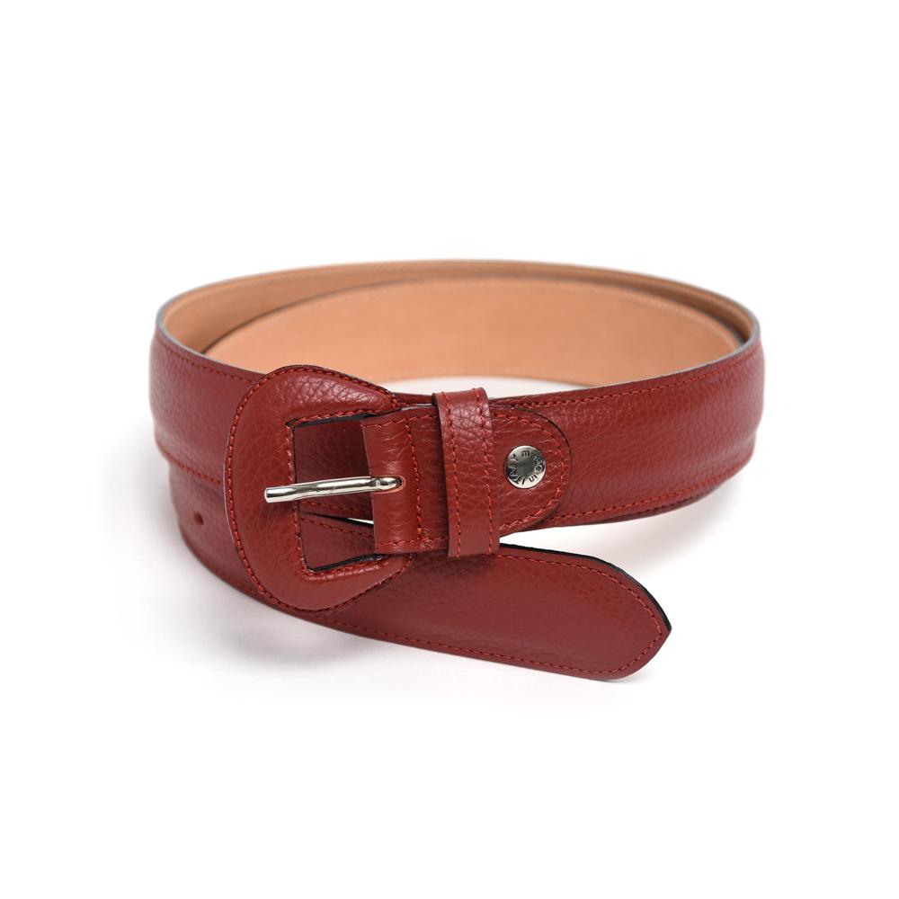 Wide Belt in Red