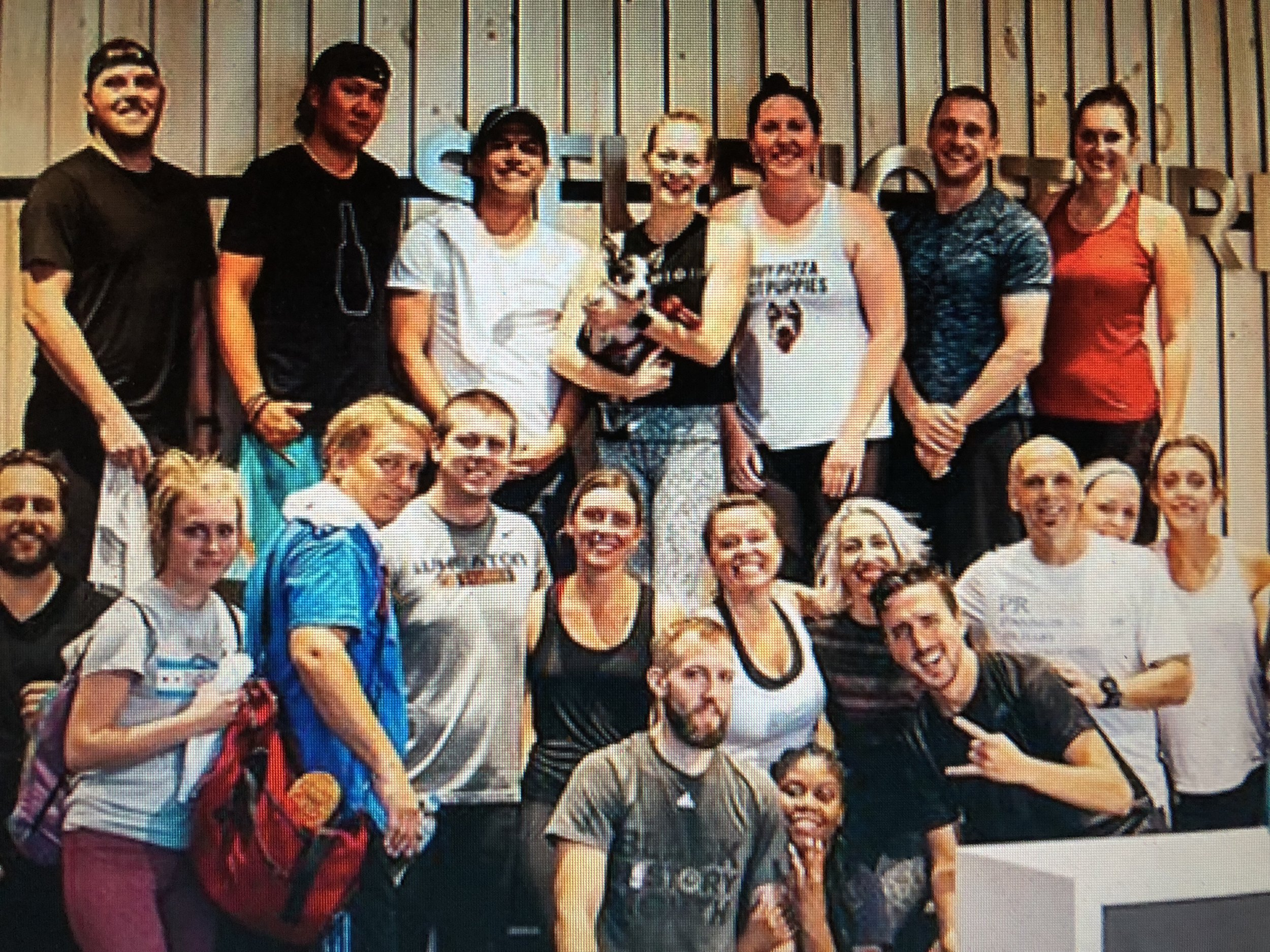 2018 1st Annual Puppy Pedal at Studio Three Chicago benefitting K9 for Warriors and PAWS Chicago . Thank you to all the riders that made this event so great.
