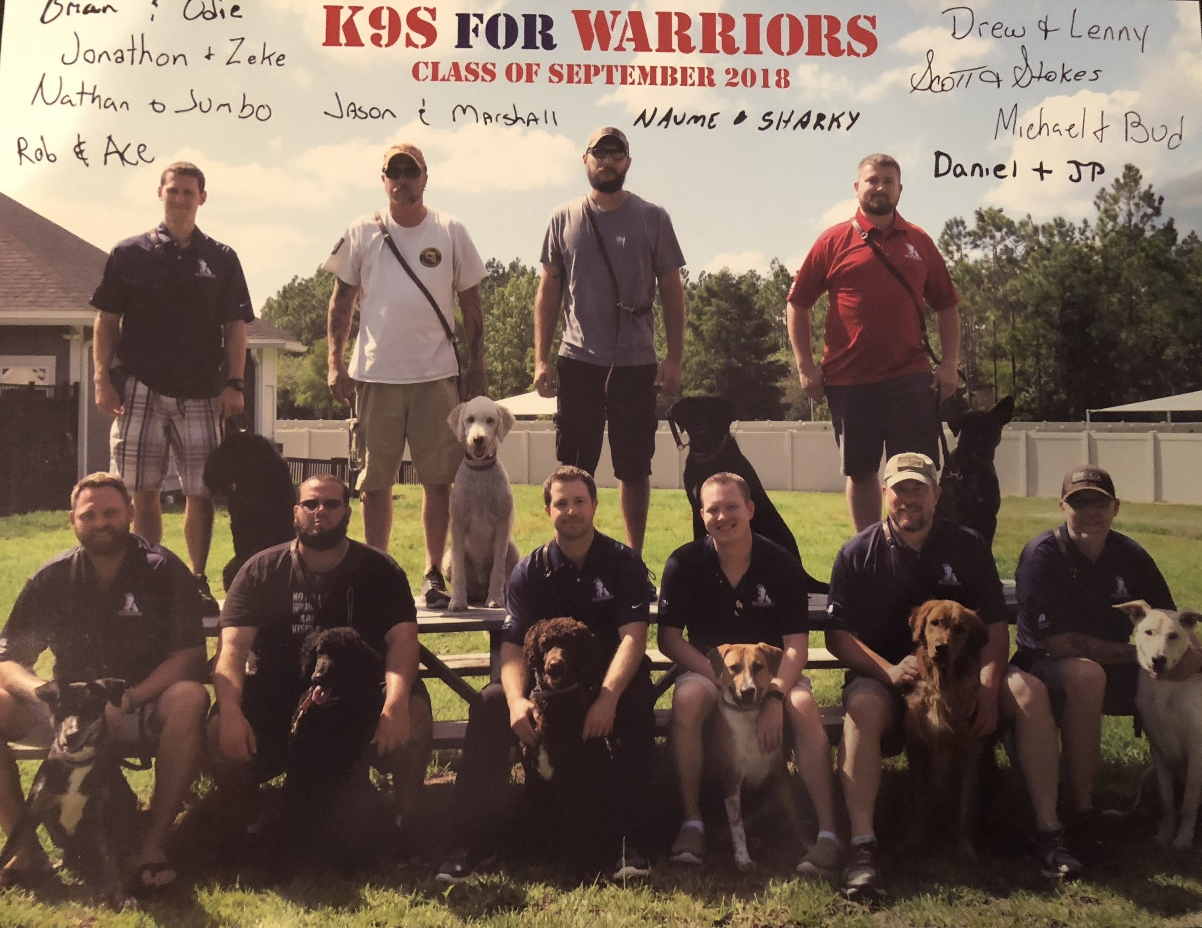 Great to see the foundation's impact from our first annual Puppy Pedal and the 2018 Chicago Marathon fundraising for K9 for Warriors