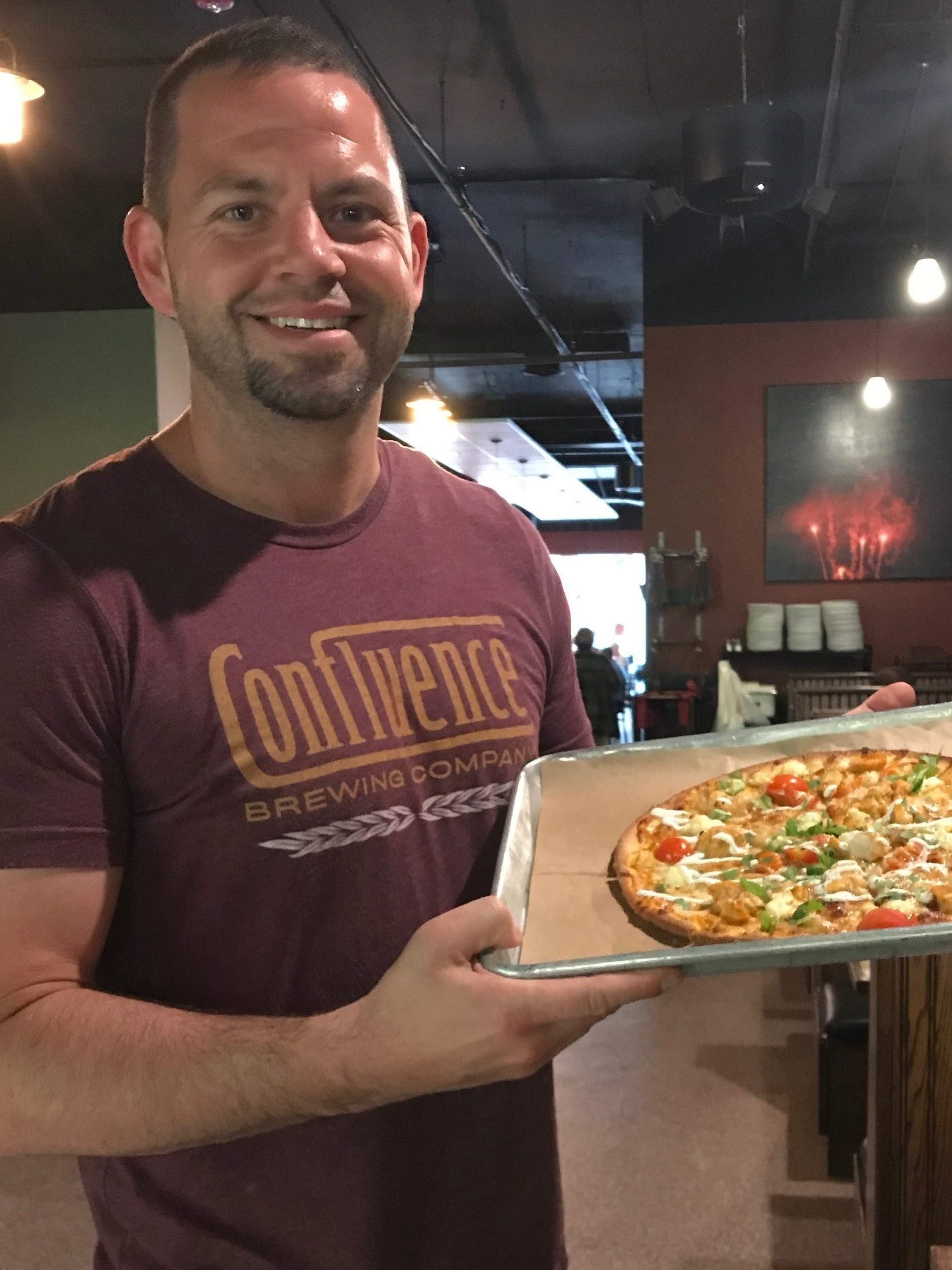 Thank you to Board Member and Need Pizza owner Bob Wagner for raising over $1,000 for the PR Foundation with his fund raising pizza available the week of June 3rd at Need Pizza Cedar Rapids, Iowa. Butter Chicken with homemade Paneer cheese, cherry tomatoes, caramelized onions and lime yogurt sauce.