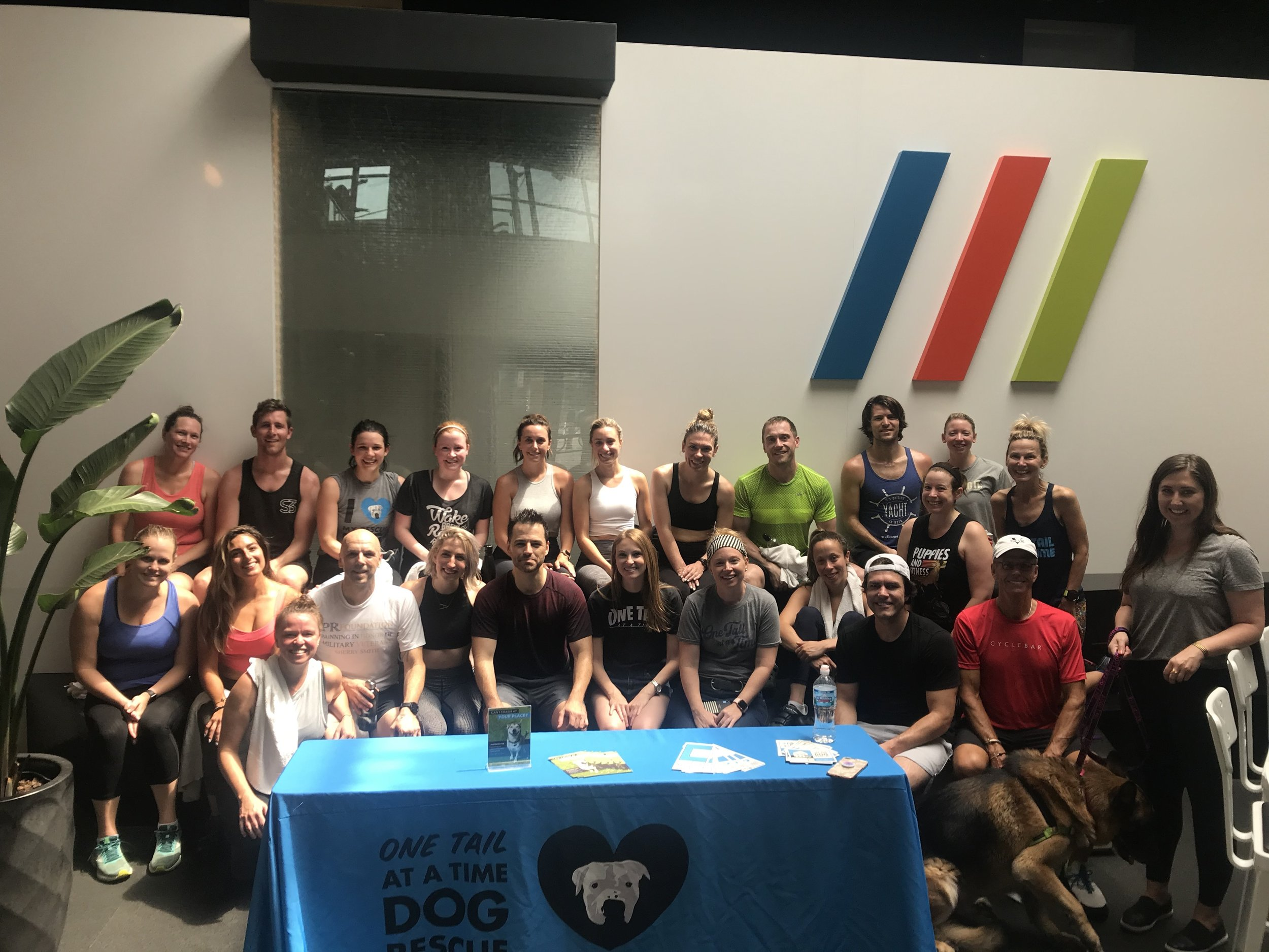 2019 2nd Annual PR Foundation Puppy Pedal at Studio Three Chicago benefitting One Tail at a Time No Kill Shelter Thank you to all the riders that made this event such a success.