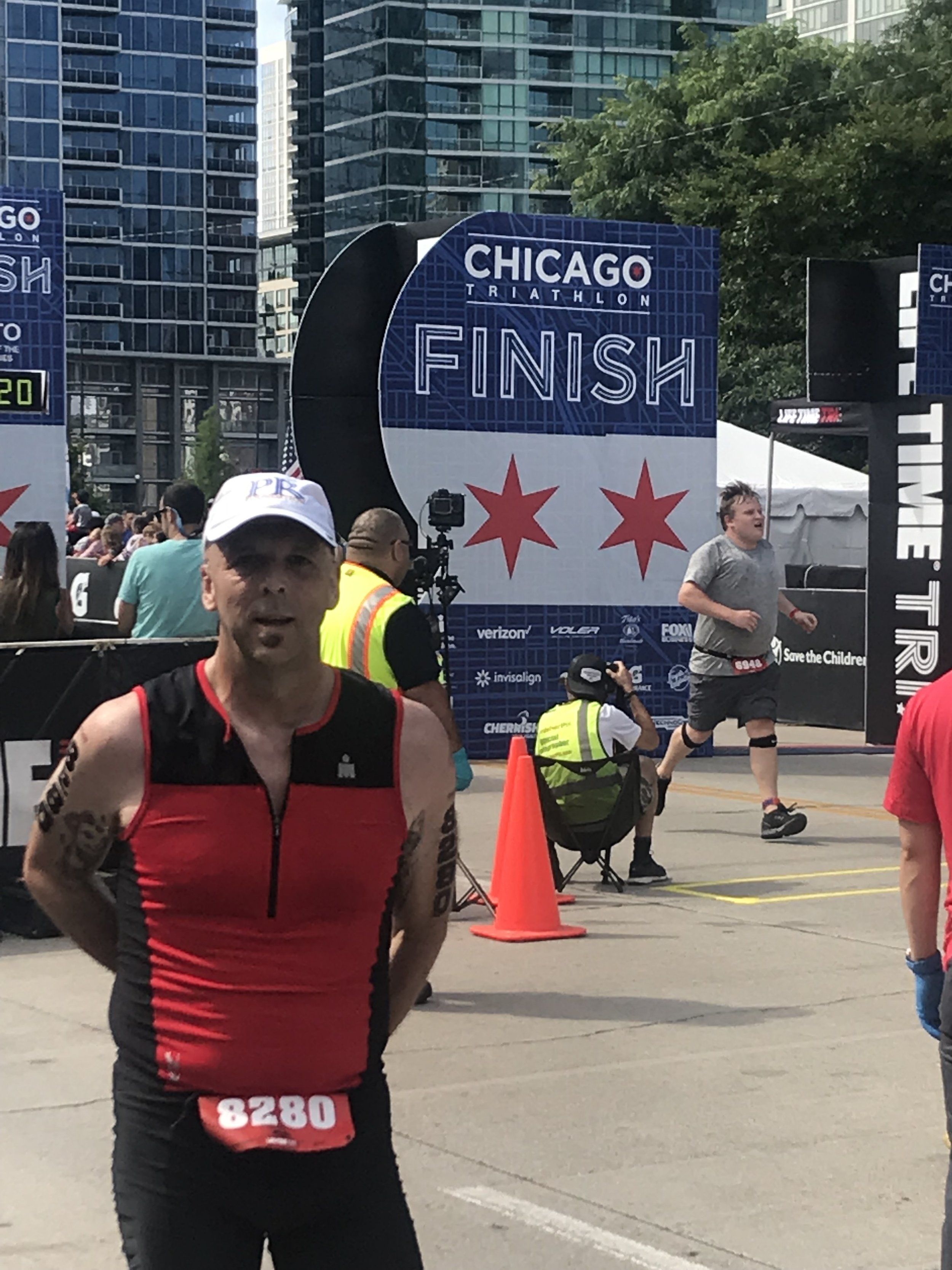 Congratulations to PR Foundation co founder Robert Kabakoff from Team PR Foundation after the 2019 Chicago Triathlon on August 25th for raising over $3,500 for military veterans and no kill animal shelters