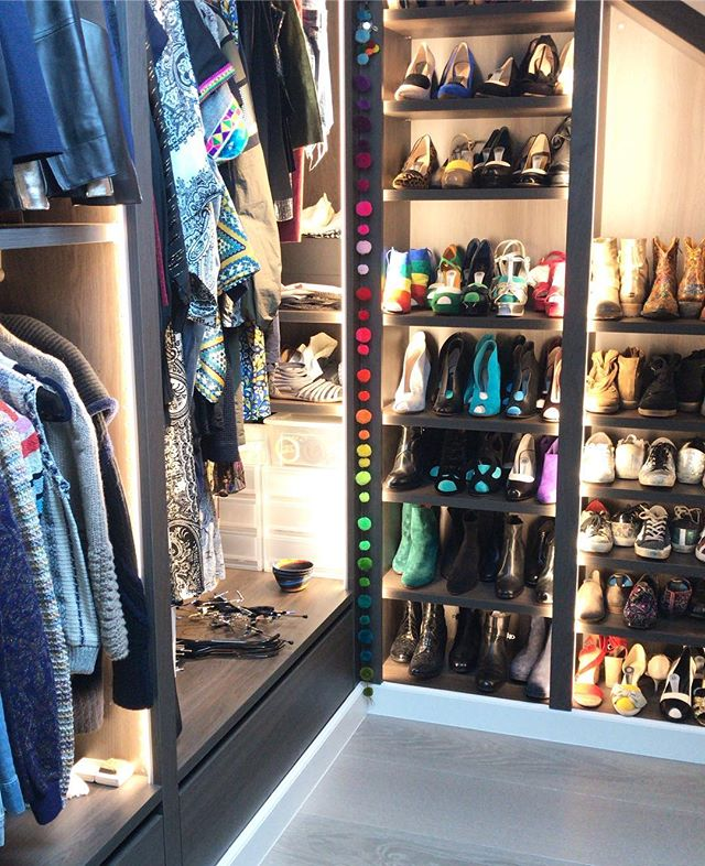Closet goal of the day 🌈