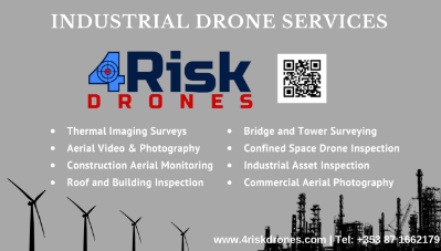 4Risk Drones Business Card