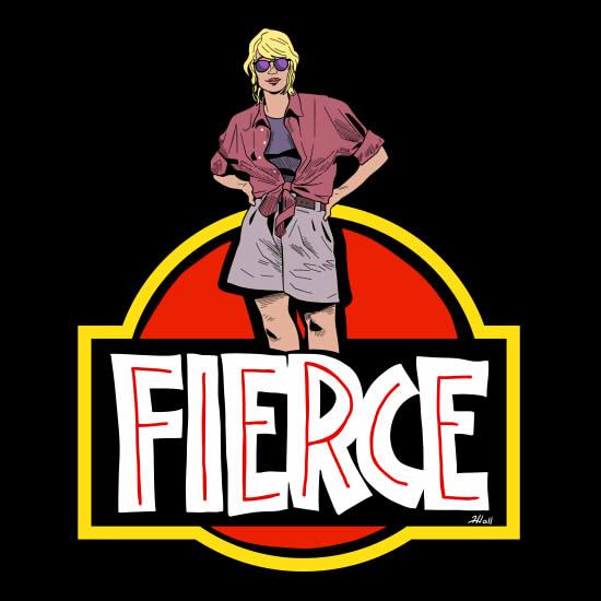 Fierce Dr. Sattler - Queen of the dinosaurs.