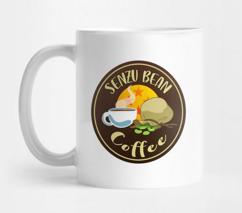 Senzu Bean Coffee - Recharge your morning ki.