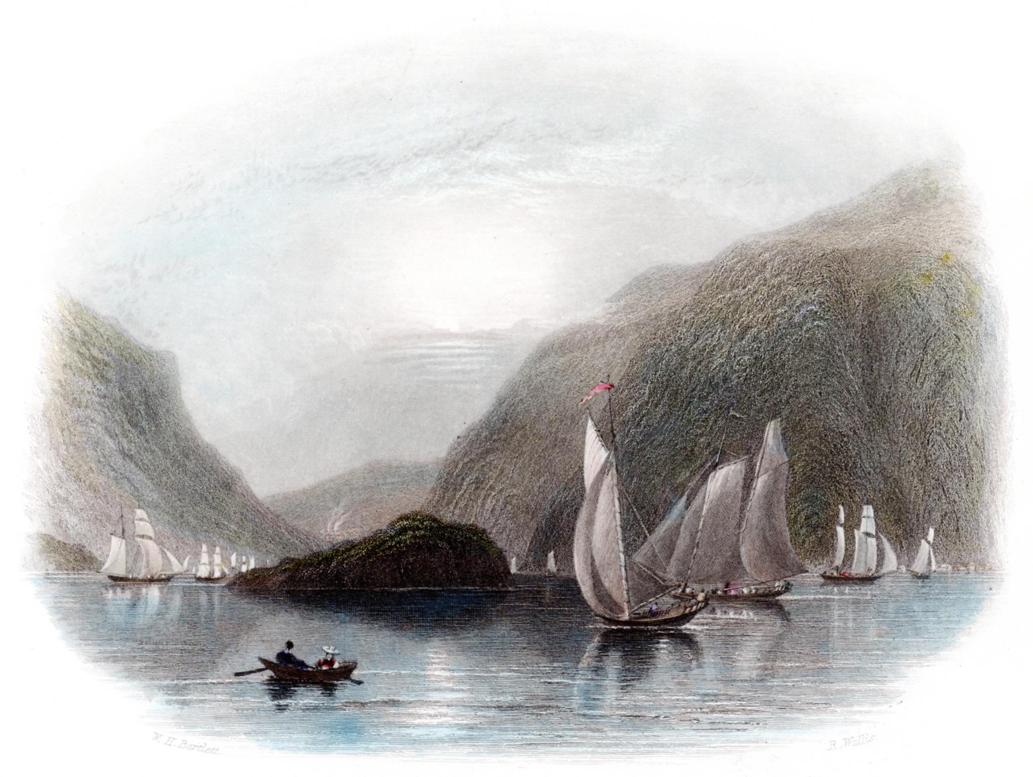 Allom, Thomas / Bartlett, Wm Henry –American Scenery (many states)
