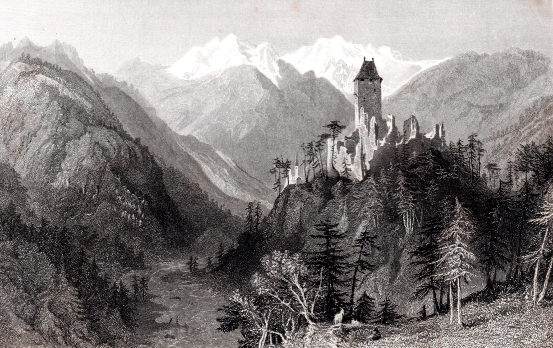 Allom, Thomas / Views of the Tyrol