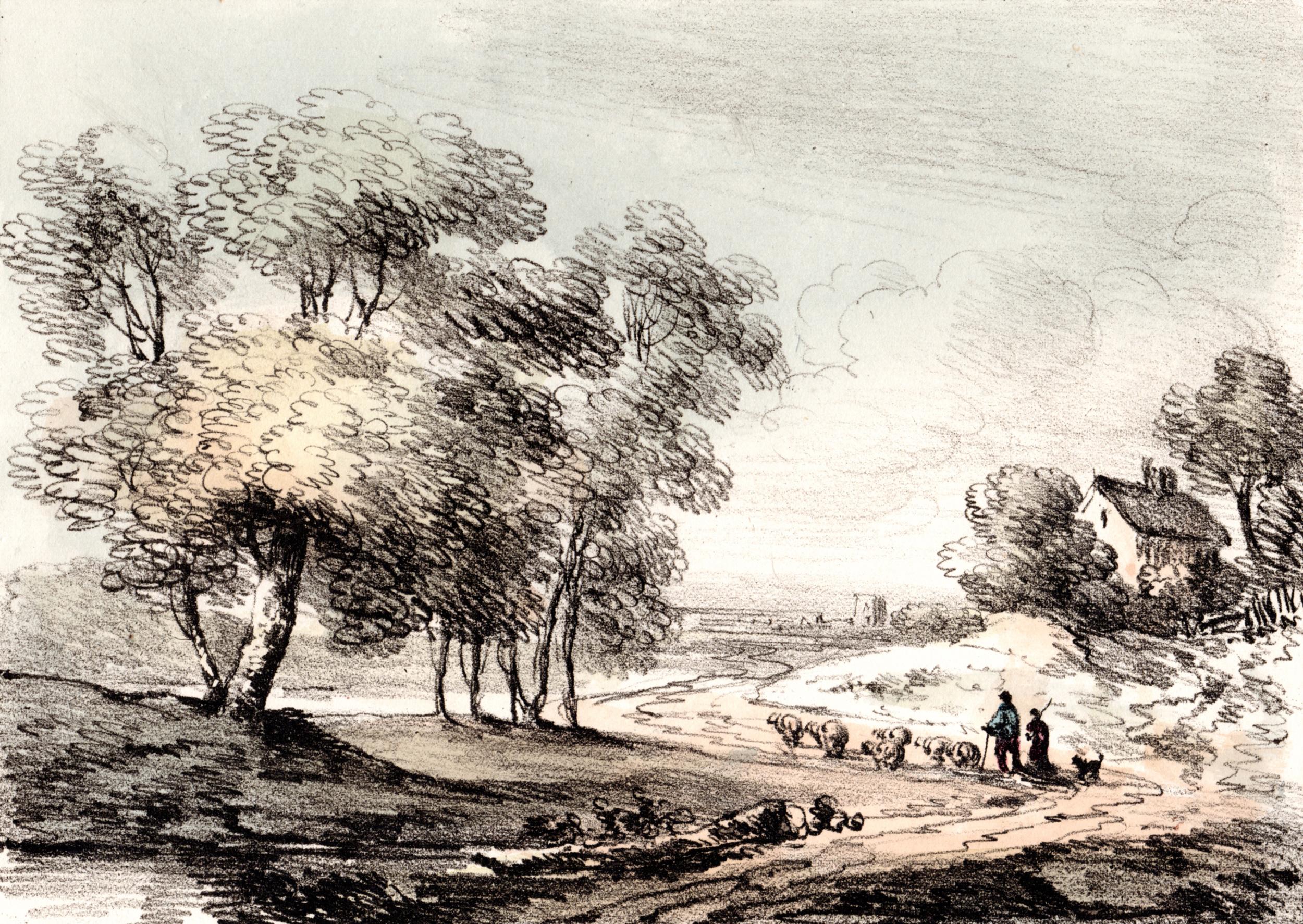 Gainsborough, Thomas / English Scenery