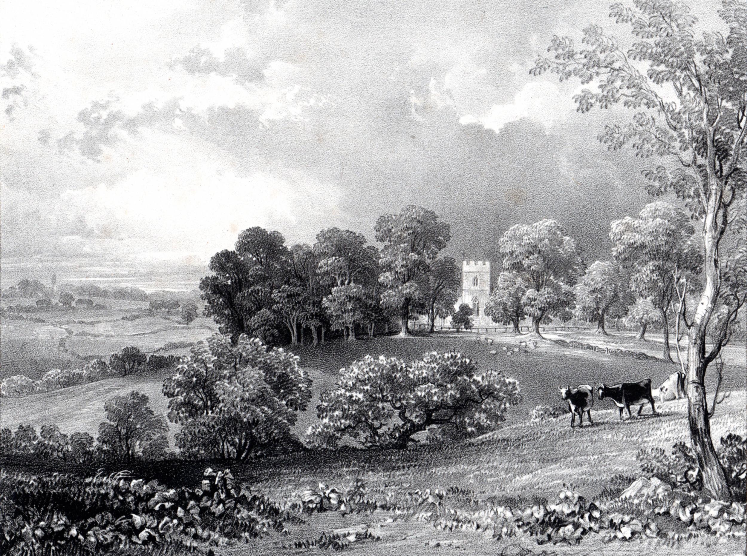 Haghe, Louis / Views in Lymington