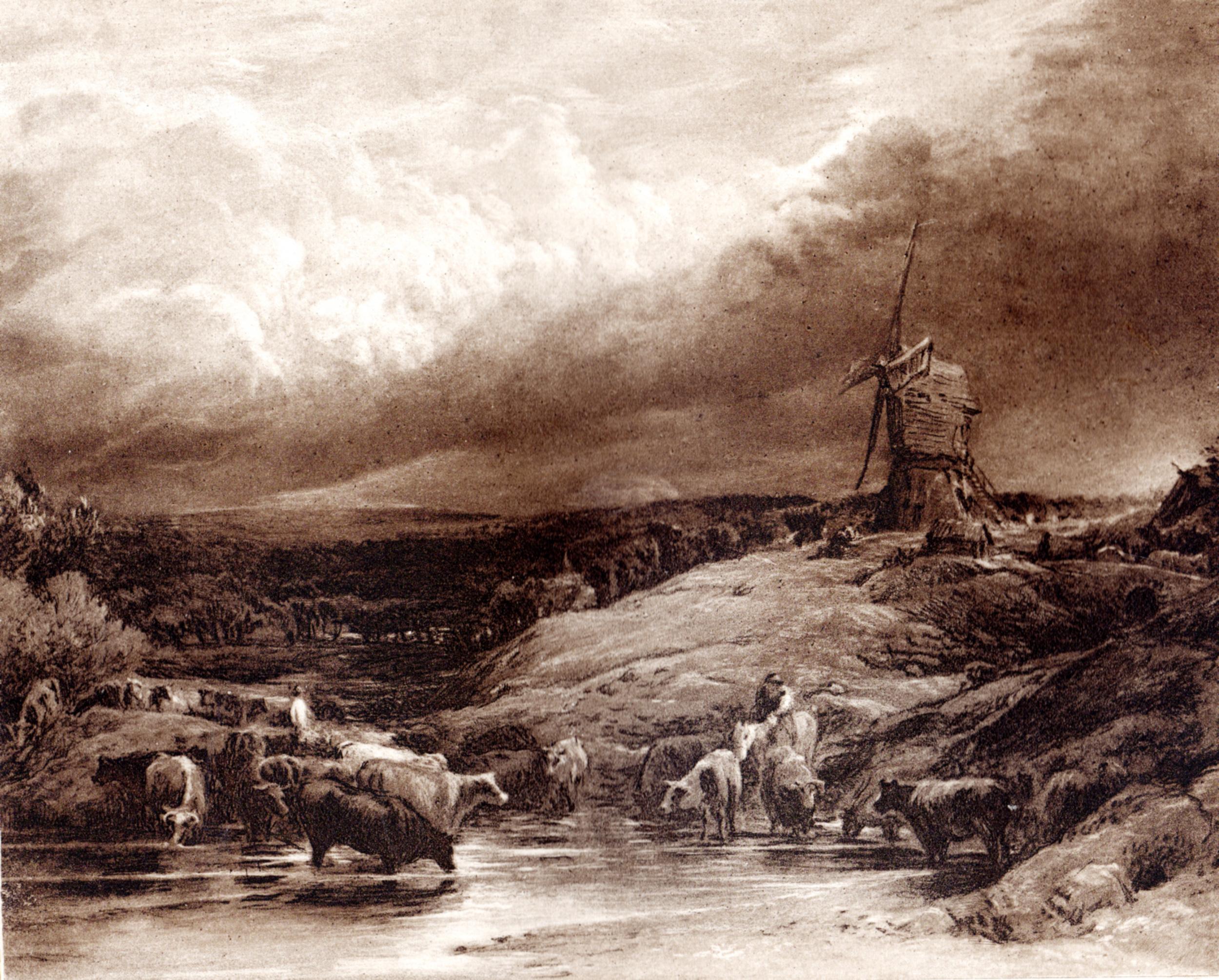 Hamerton, Philip Gilbert / various famous landscape artists