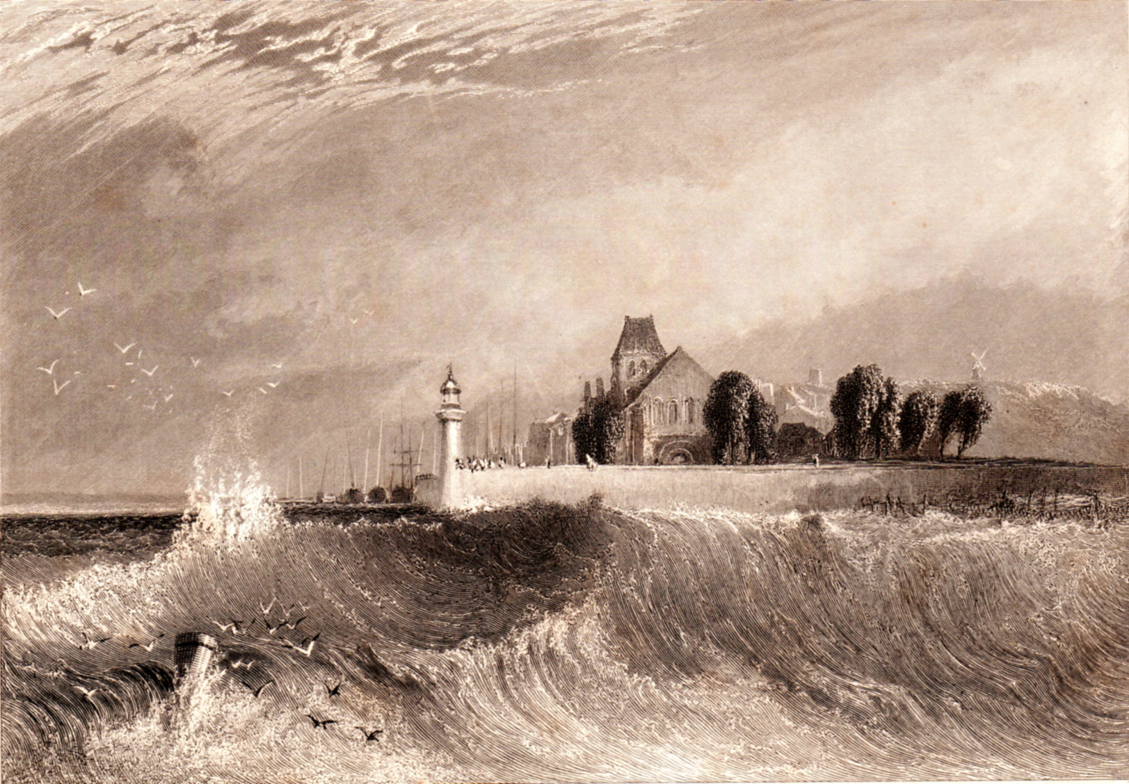Turner, J.M.W. / Wanderings by the Seine