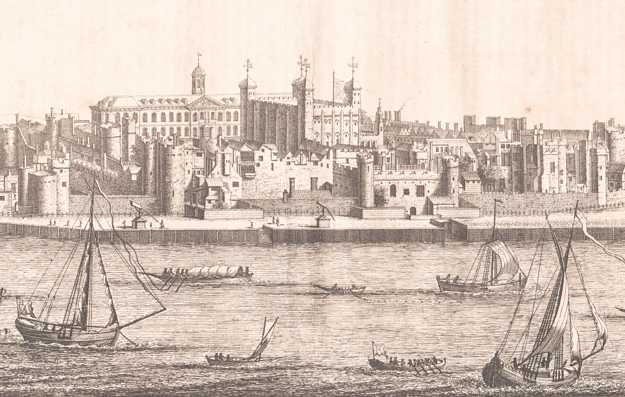 18th-century engravings of London, England