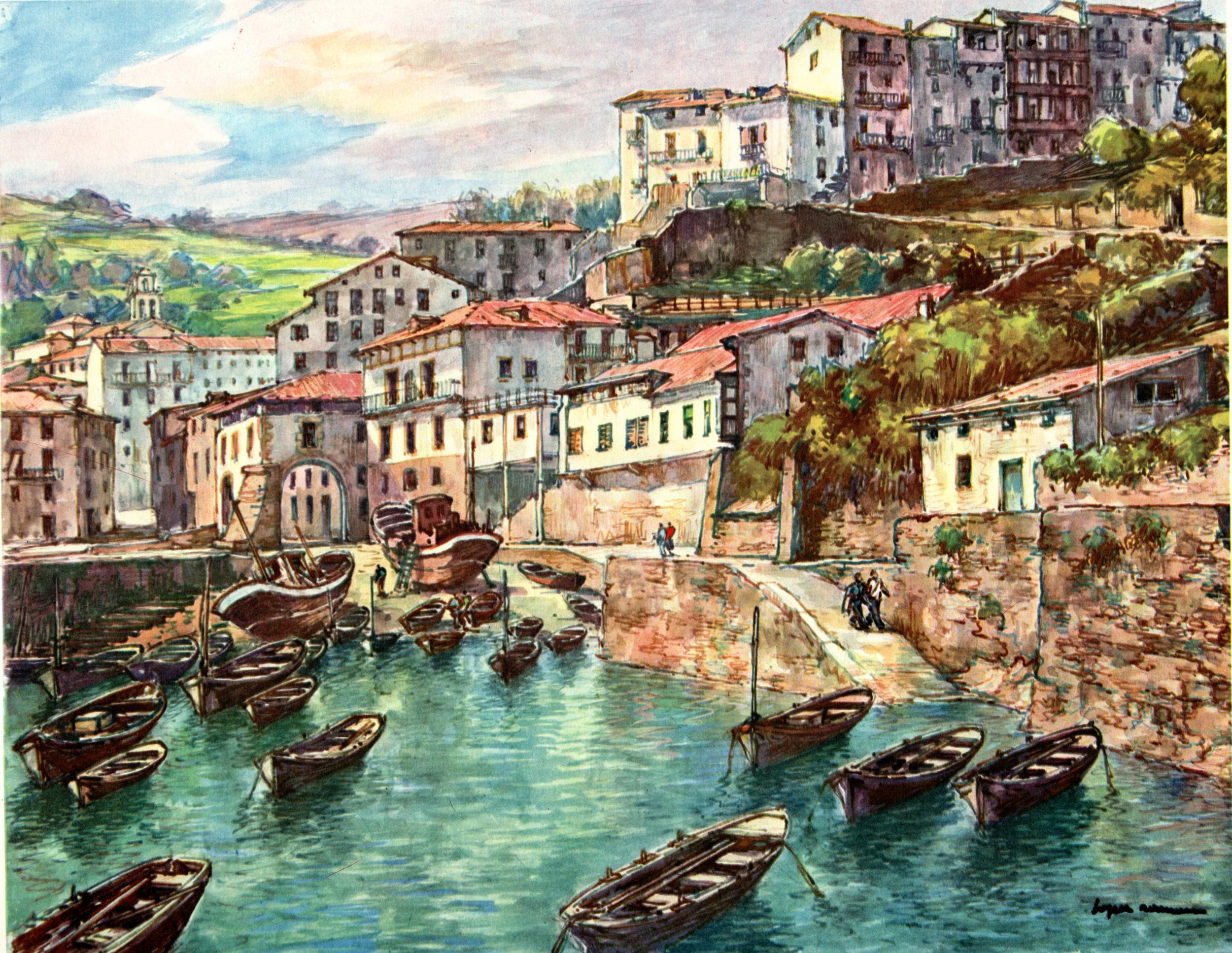 Spanish Landscapes by Lopez Ramon
