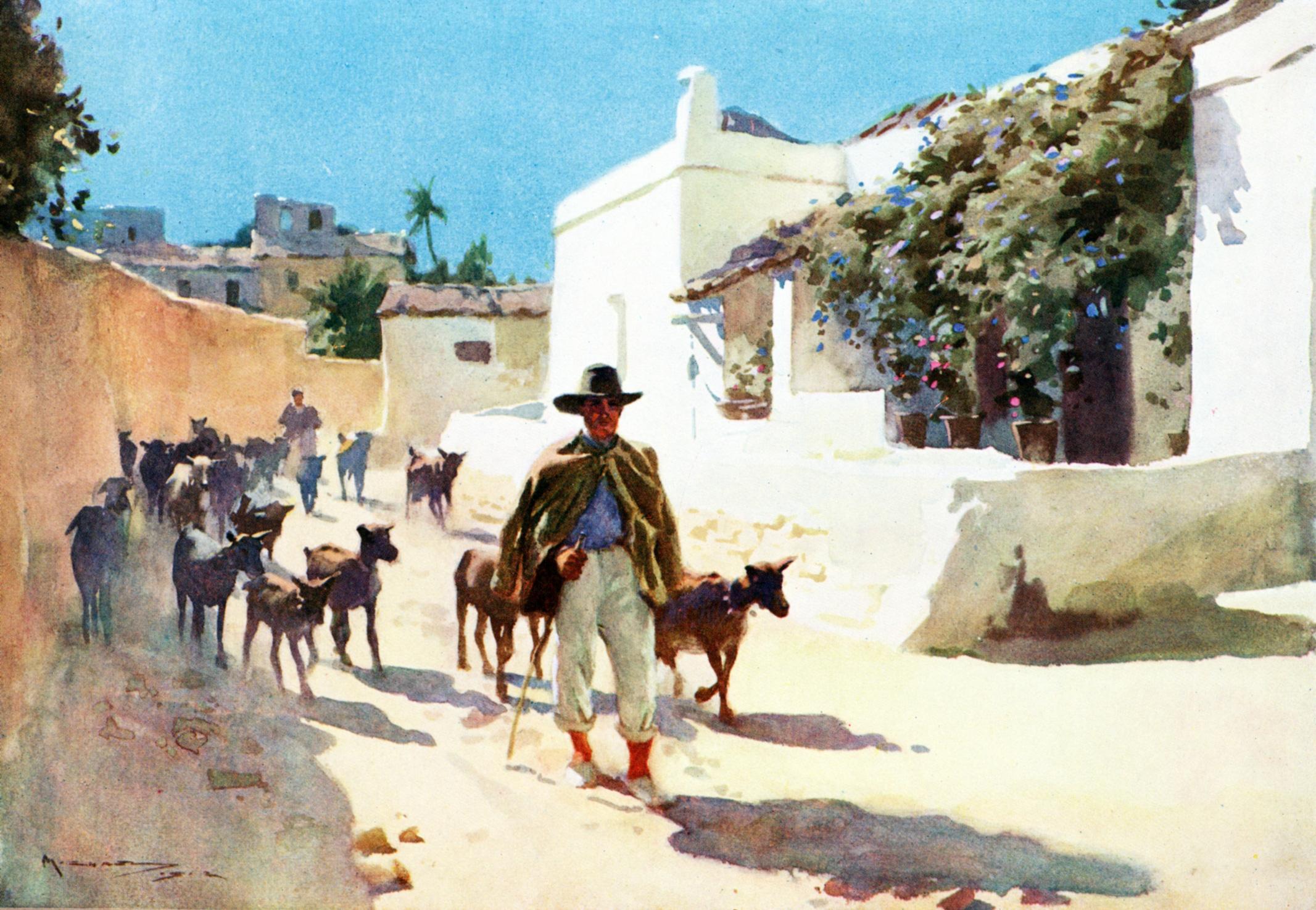 An Artist in Spain / Michael, A.C.