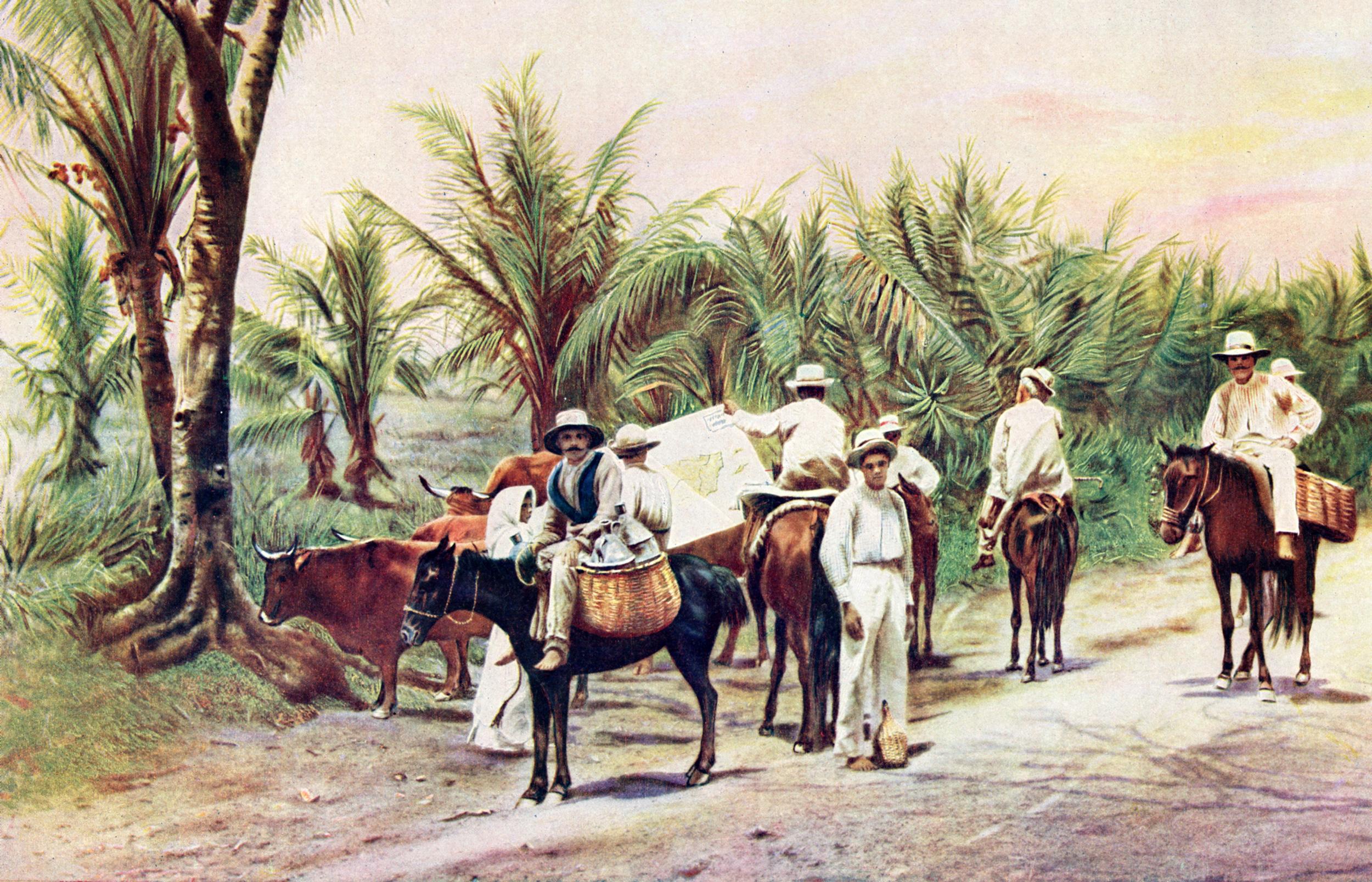 Antique prints of Puerto Rico & Cuba