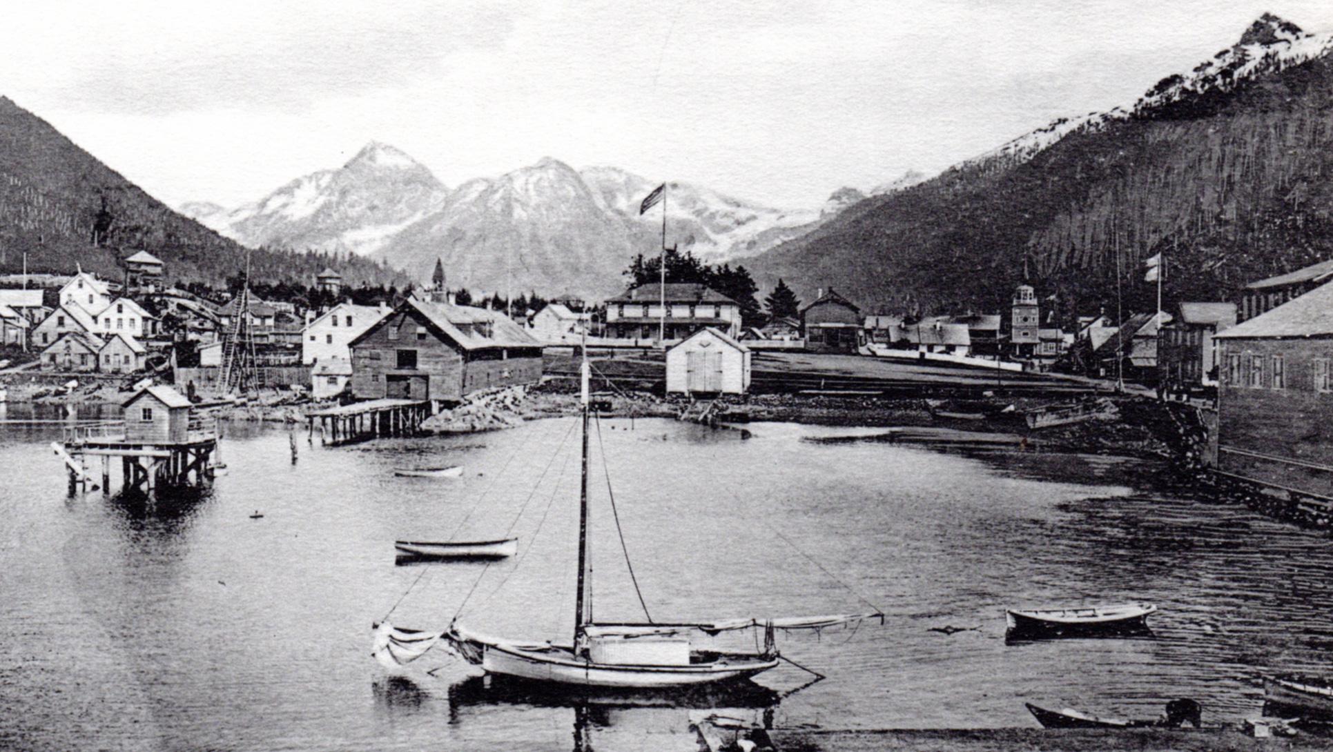 Antique prints of Alaska & Pacific NW