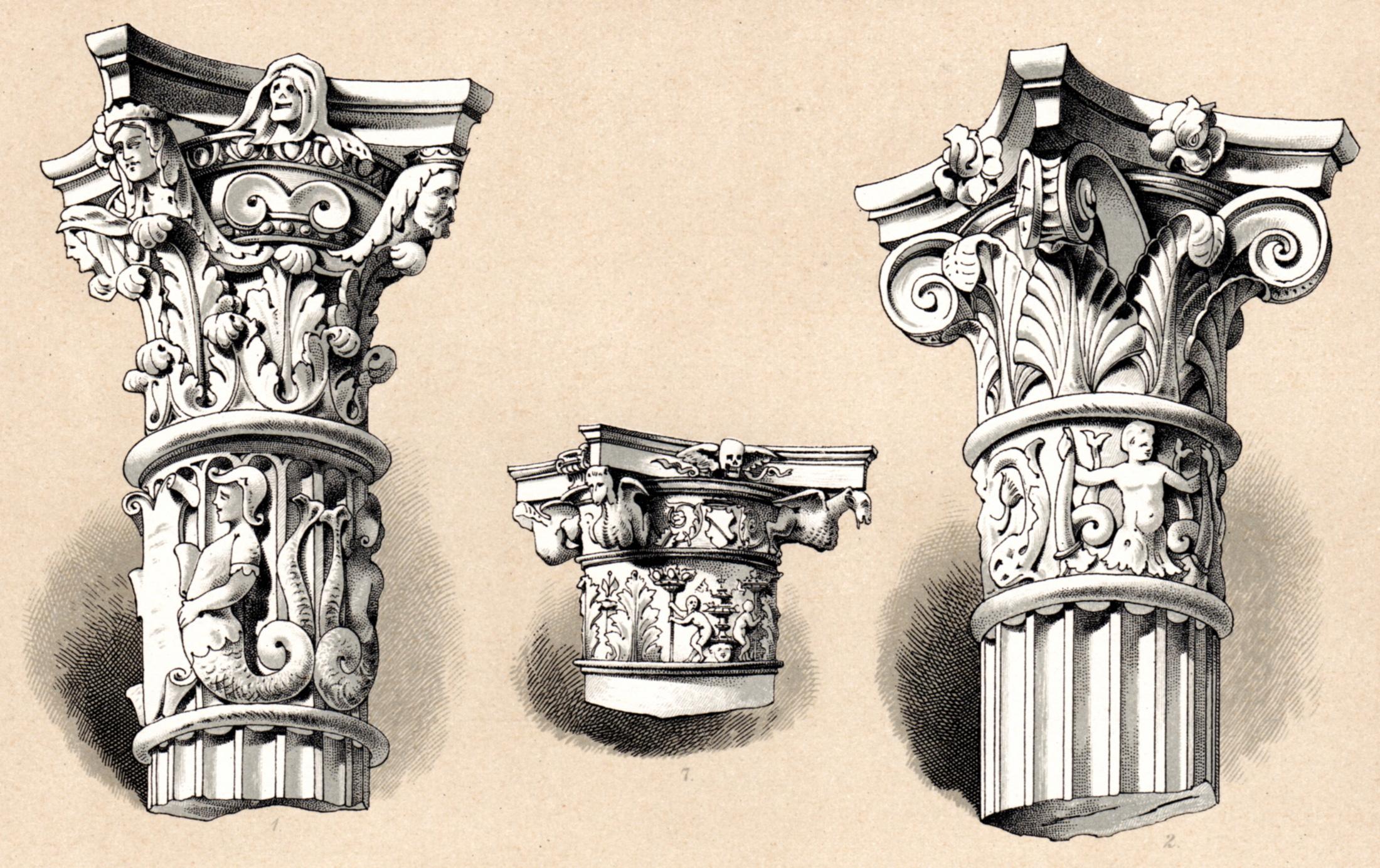 Dekorative Vorbilder