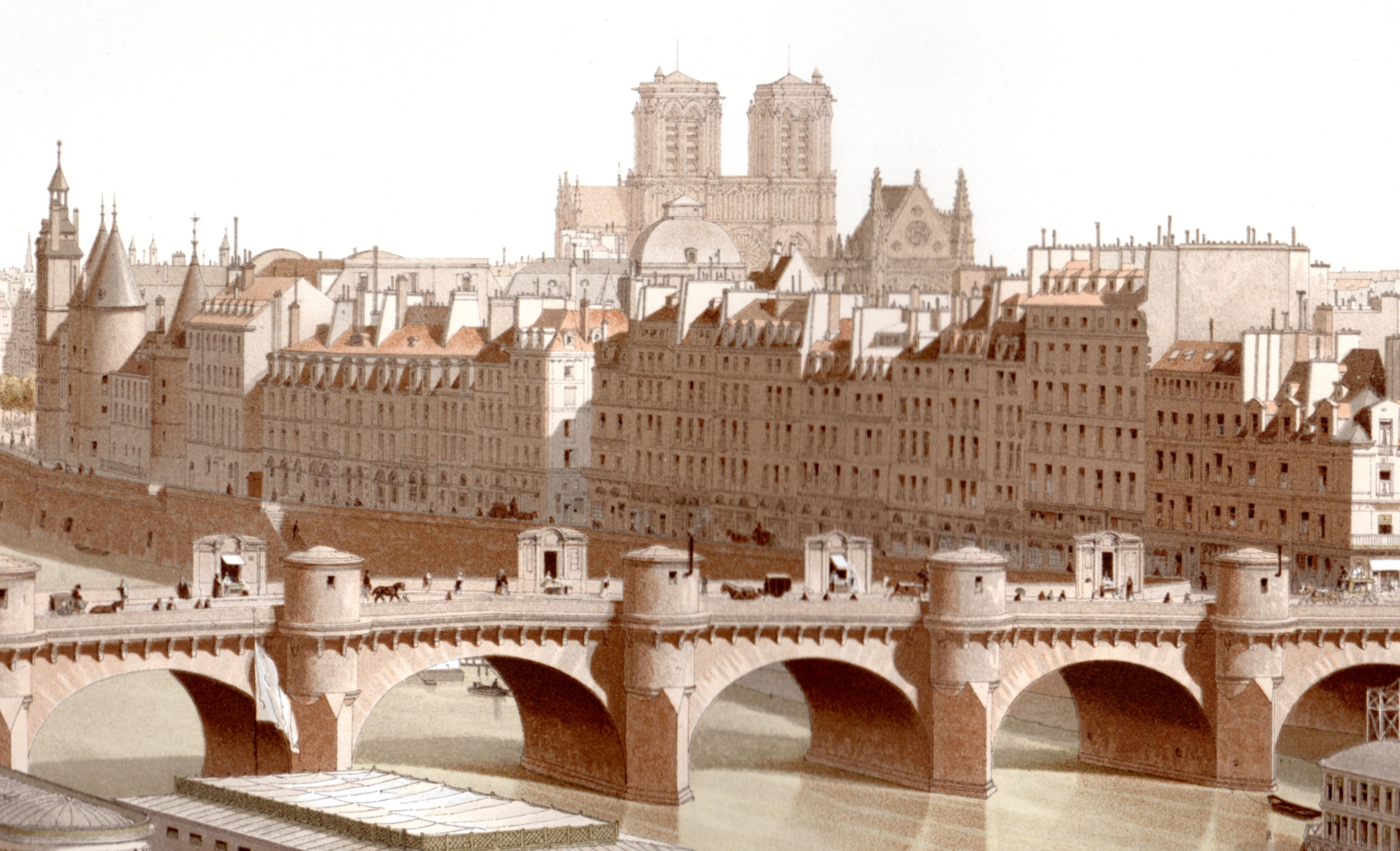 Hoffbauer, H.F. –Paris through the ages