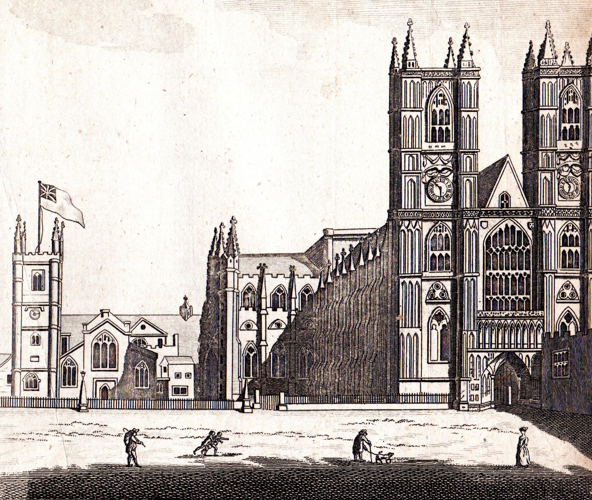 London, England 18th & 19th century prints