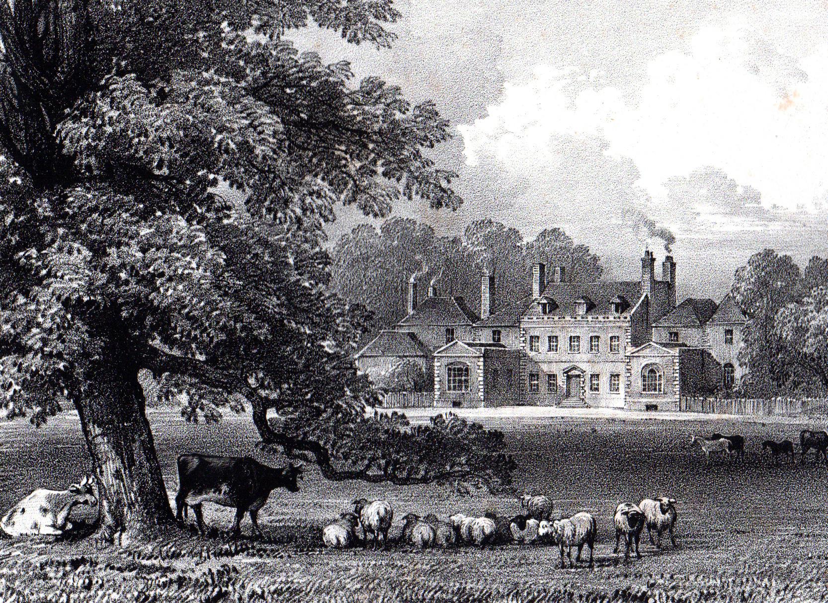 Miscellaneous antique prints of Great Britain