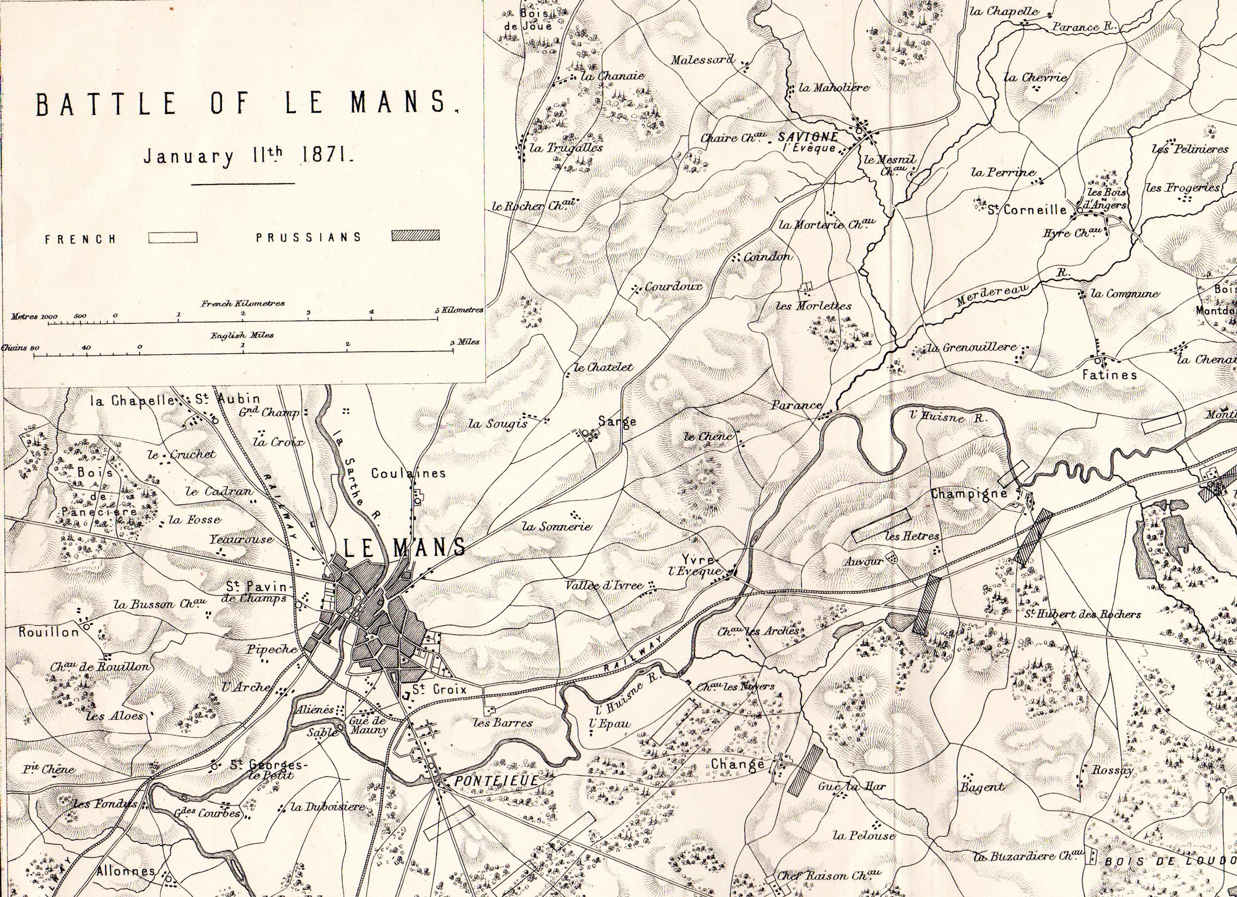 The Franco-Prussian War battle maps