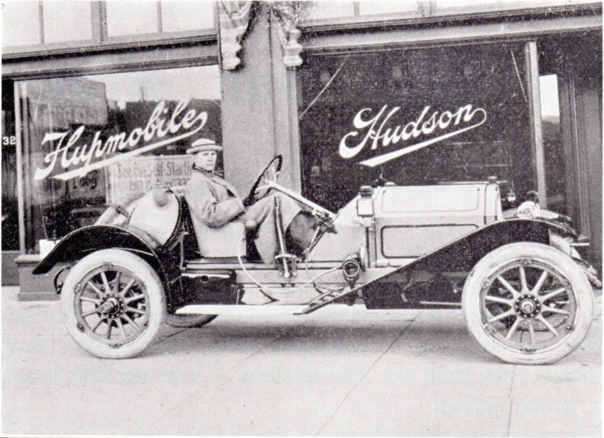Early automobile prints and photos
