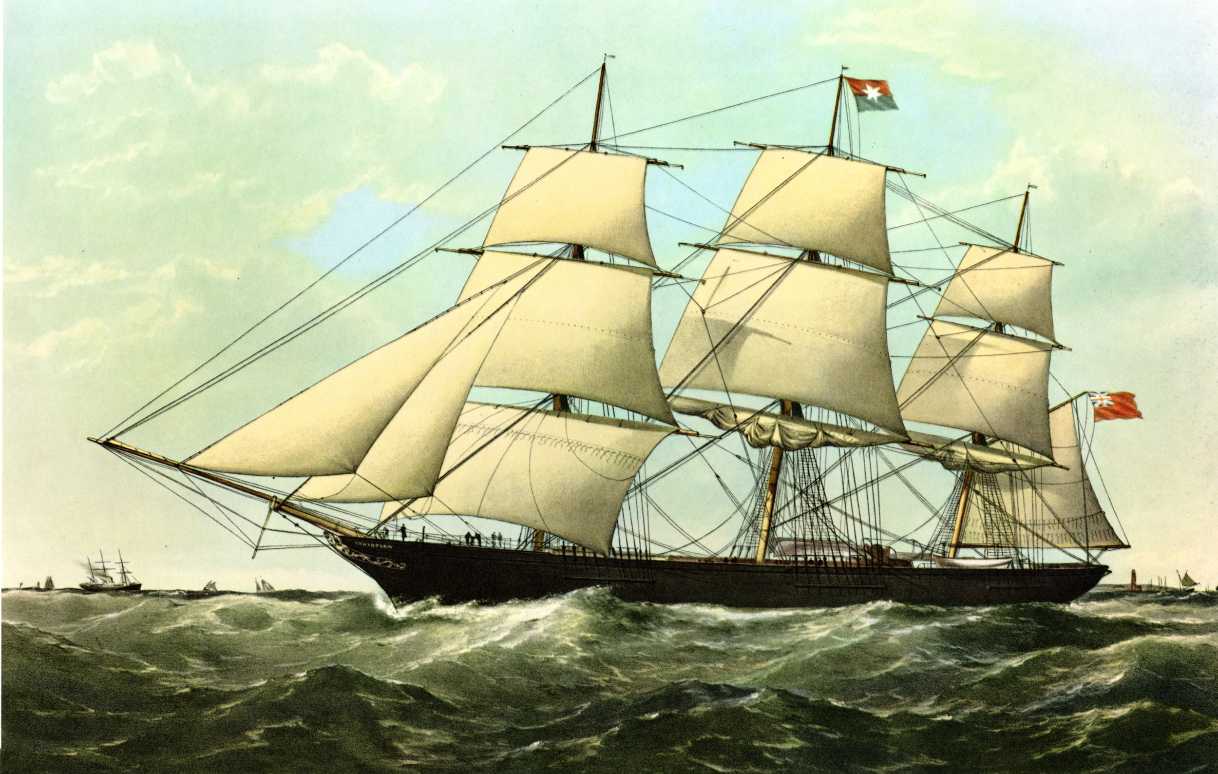 Miscellaneous ship prints